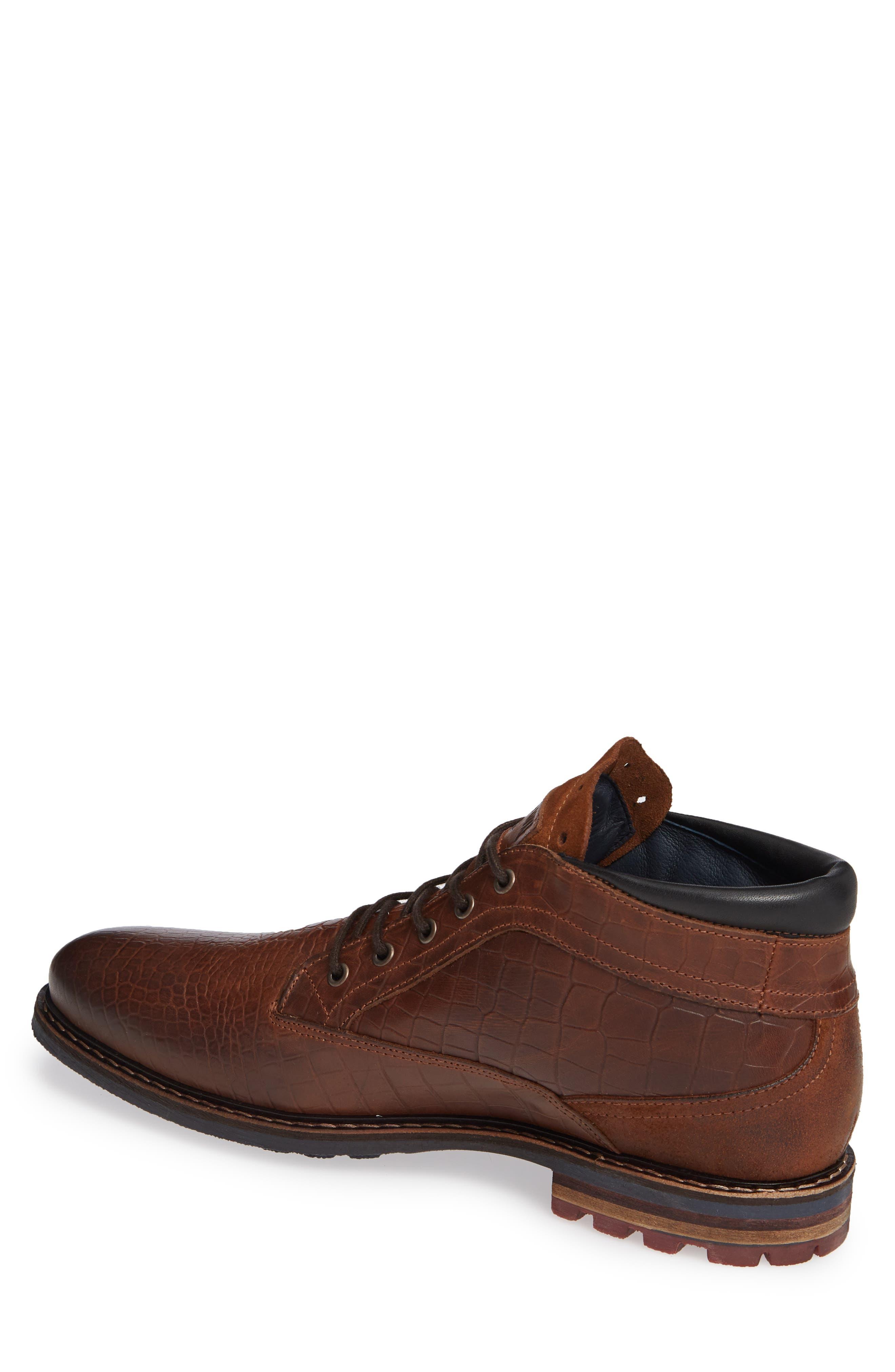 Manton Plain Toe Boot,                             Alternate thumbnail 2, color,                             COGNAC