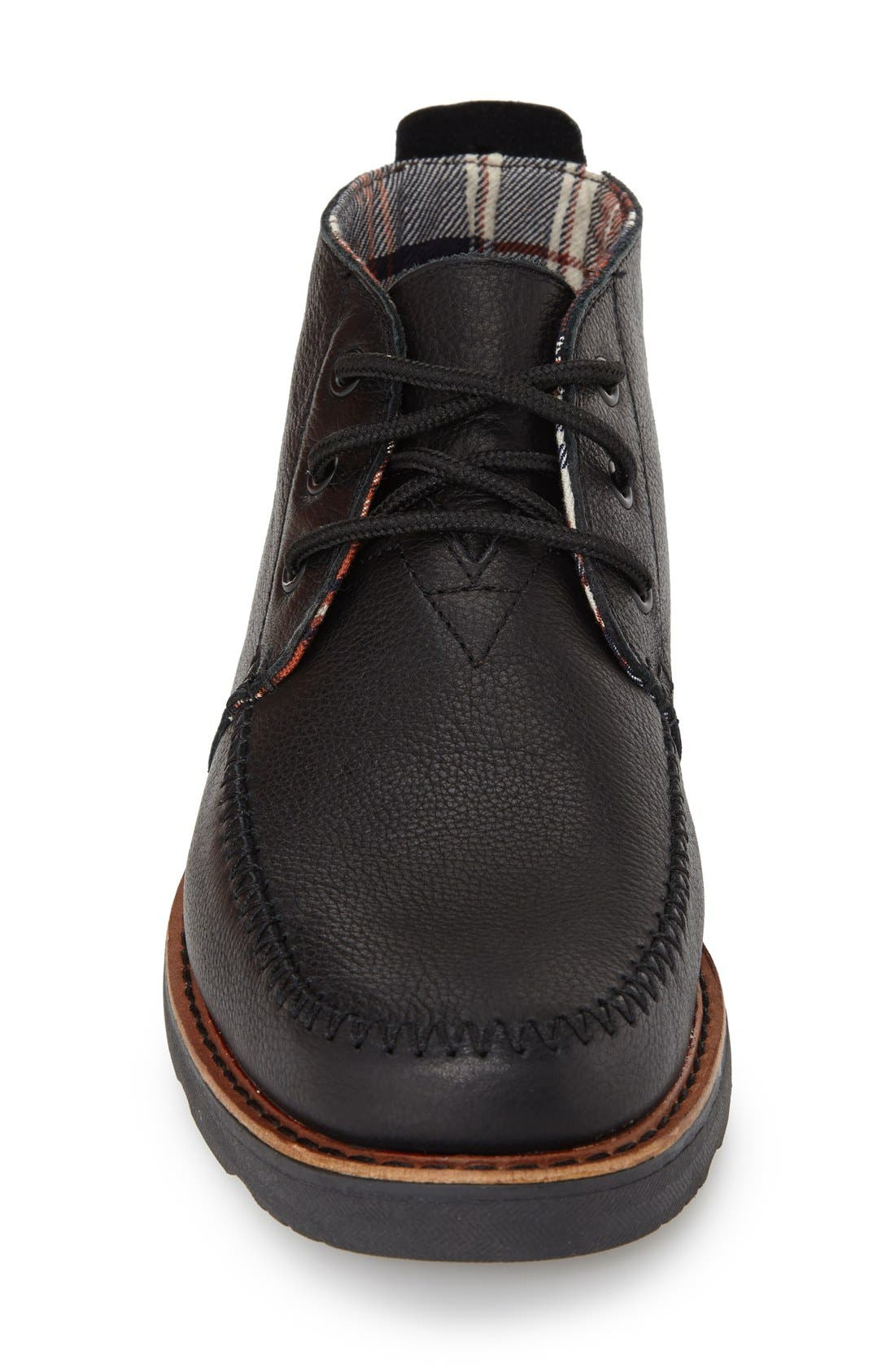 Waterproof Chukka Boot,                             Alternate thumbnail 3, color,                             001