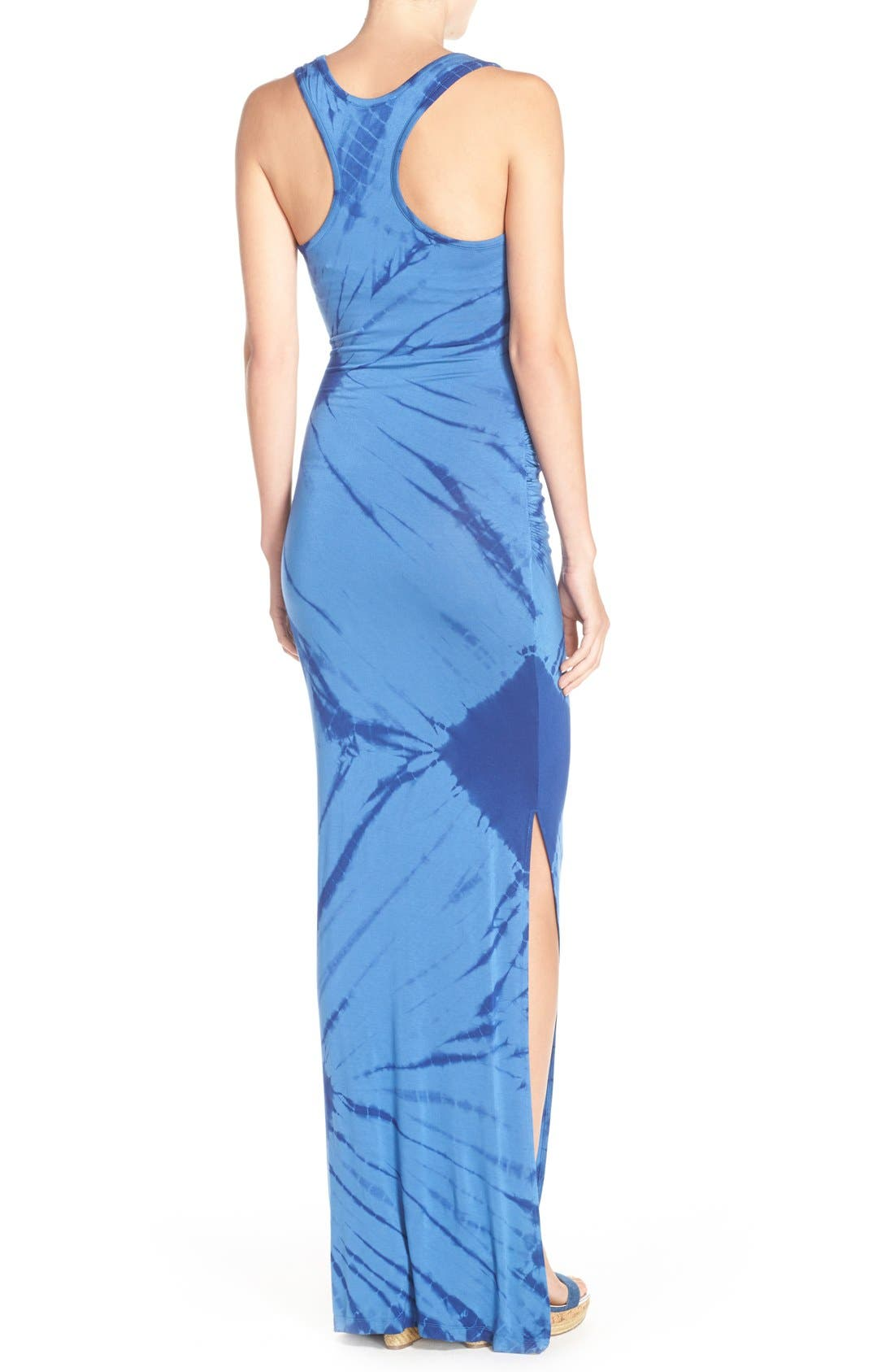 Tie Dye Tank Maxi Dress,                             Alternate thumbnail 2, color,                             400