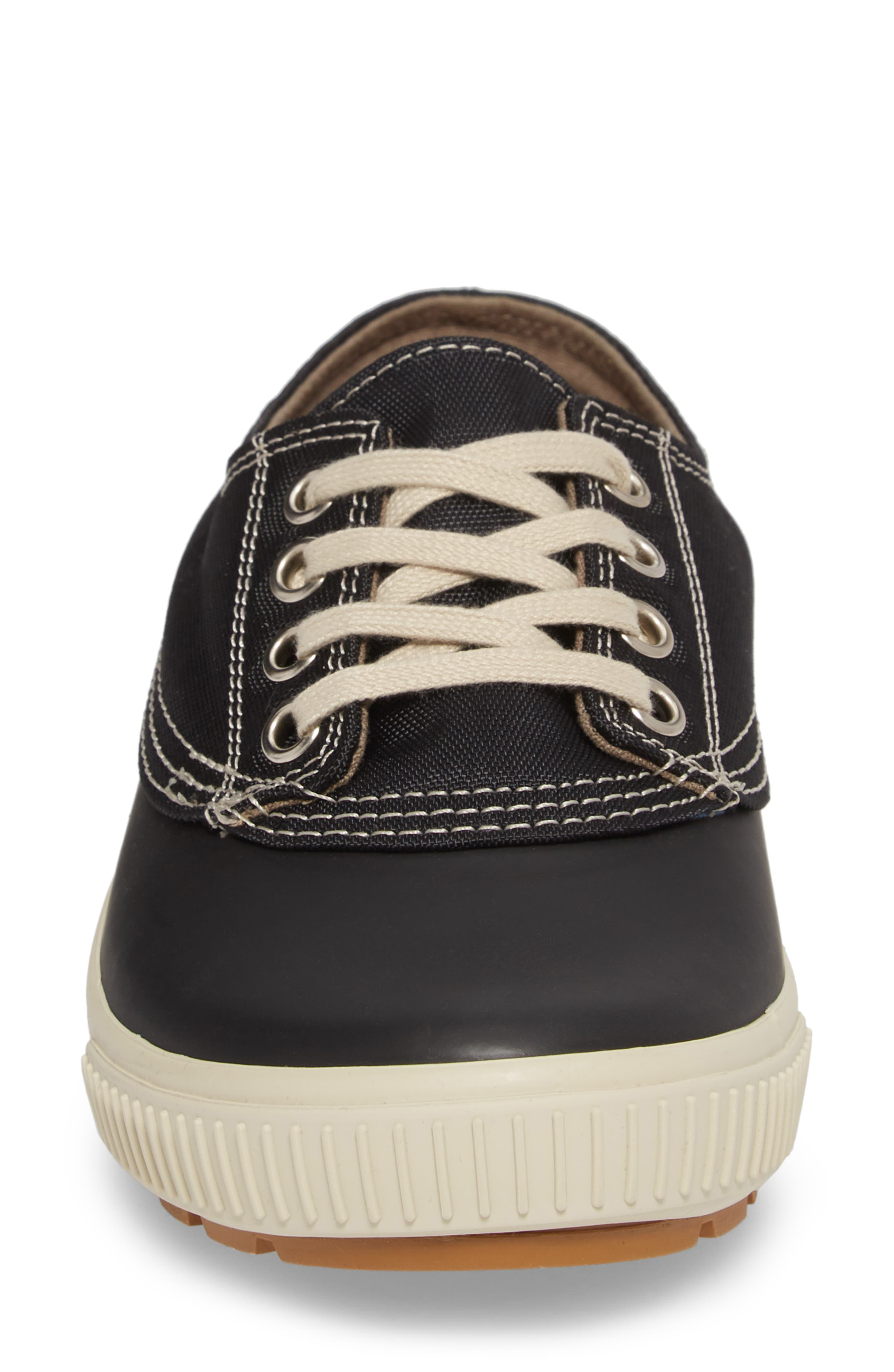 Dash Duck Sneaker,                             Alternate thumbnail 4, color,                             BLACK