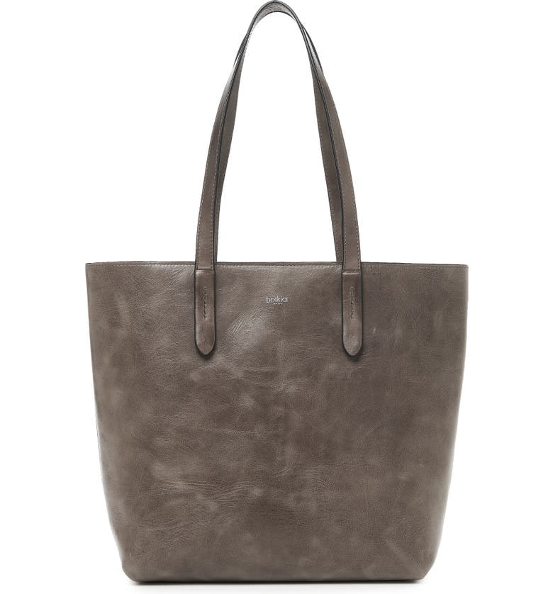 Botkier HIGHLINE LEATHER TOTE - GREY