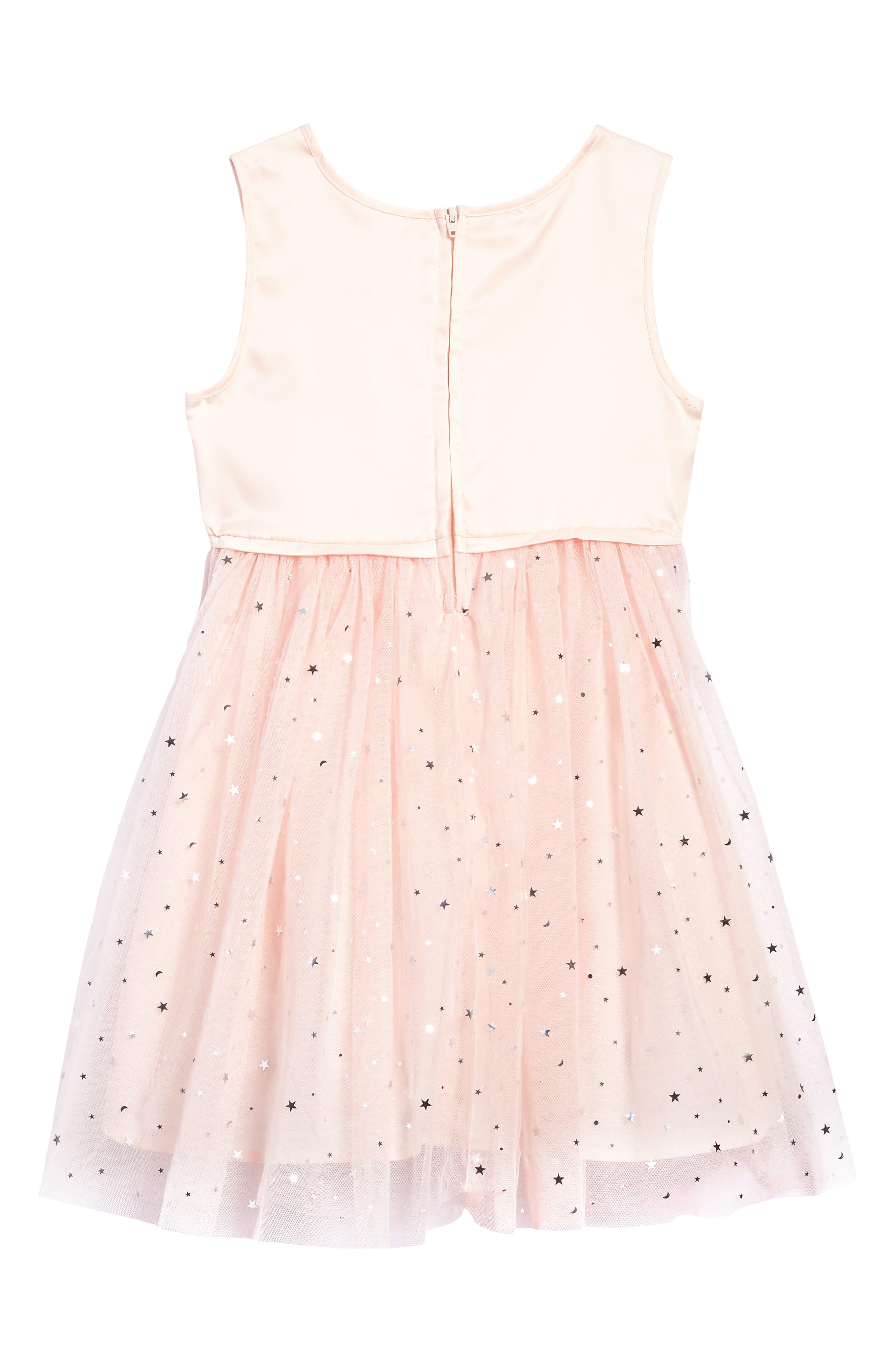 Star Tulle Dress,                             Alternate thumbnail 2, color,