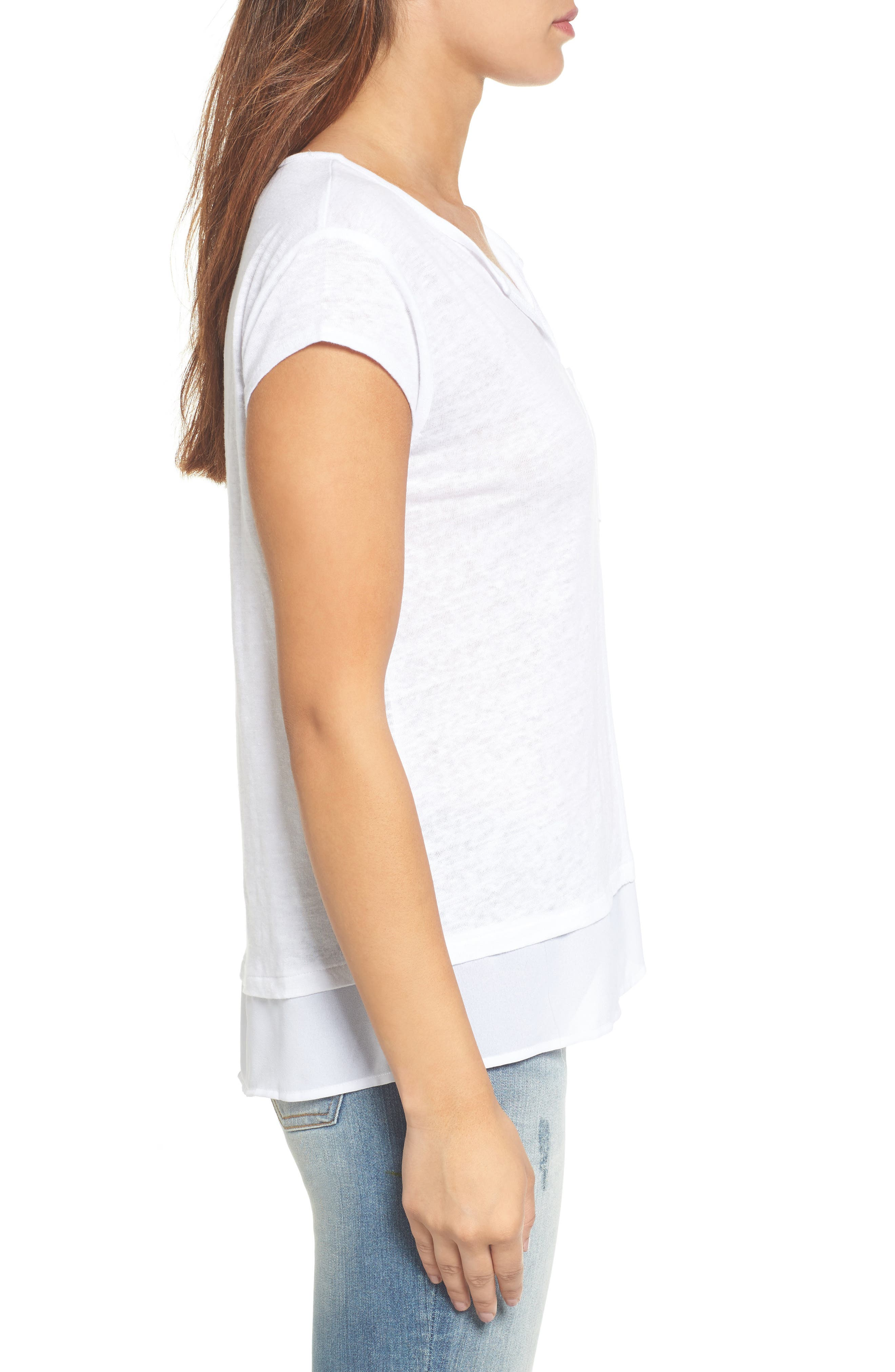 City Mix Layered Look Tee,                             Alternate thumbnail 68, color,