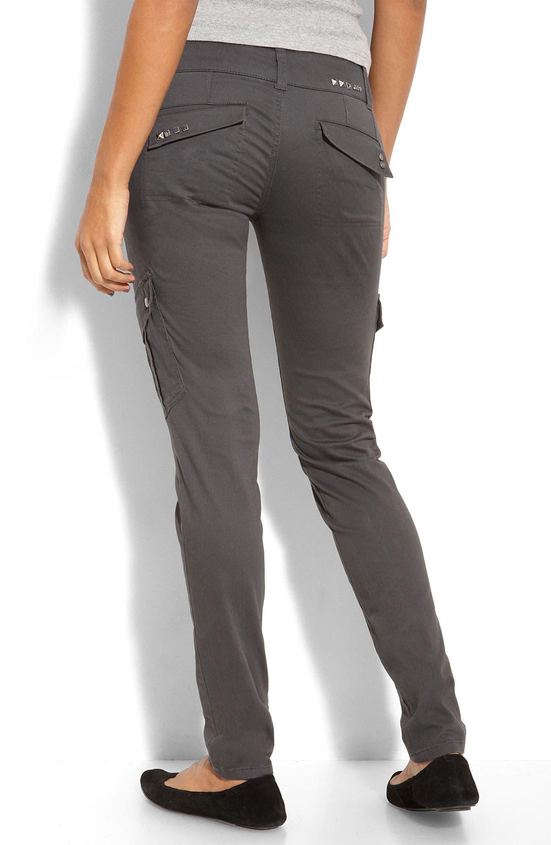 Skinny Cargo Pants,                             Alternate thumbnail 2, color,                             056