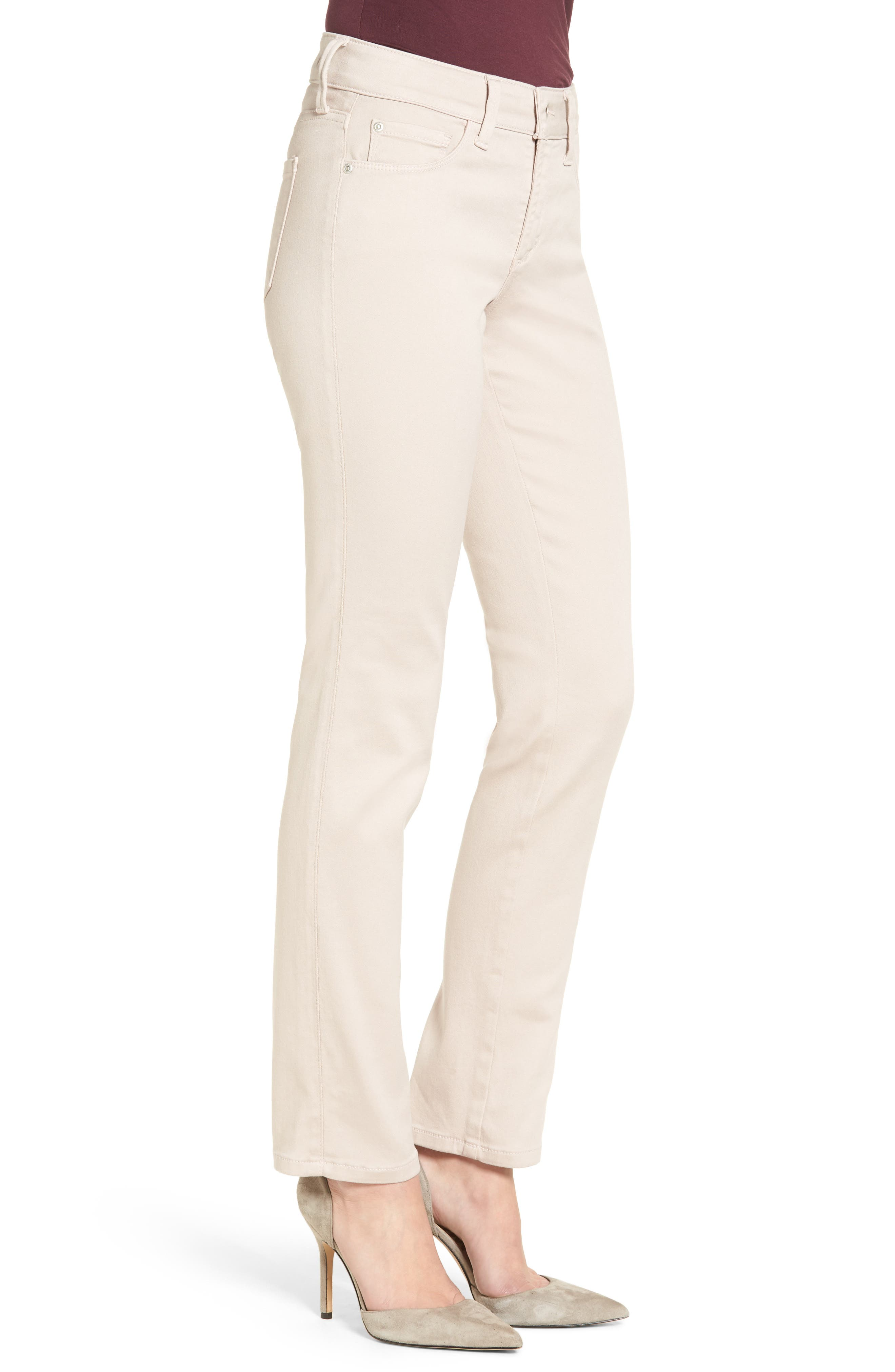 'Sheri' Stretch Twill Slim Leg Pants,                             Alternate thumbnail 9, color,