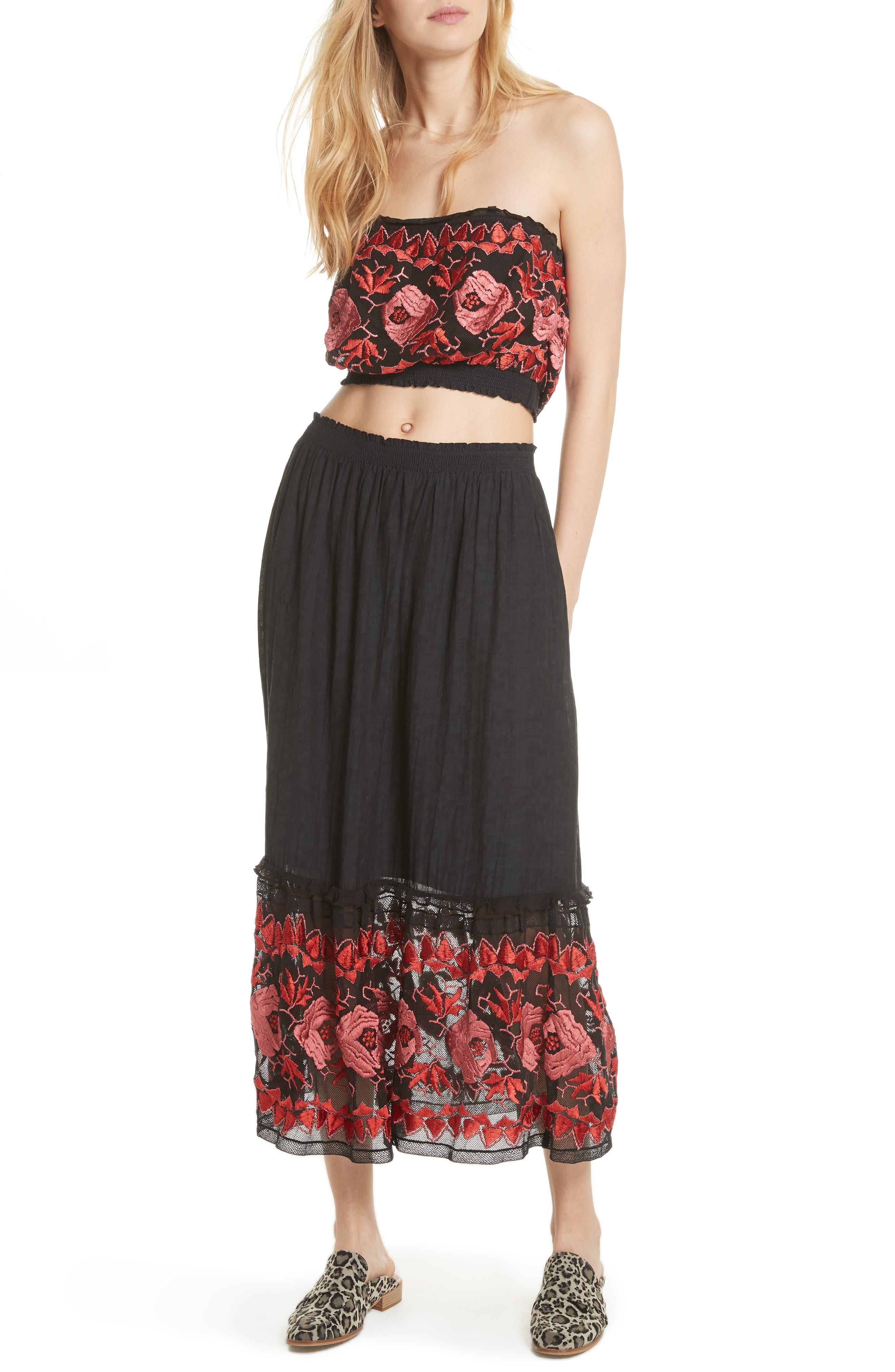 Rosebud Top & Skirt,                             Alternate thumbnail 5, color,                             019