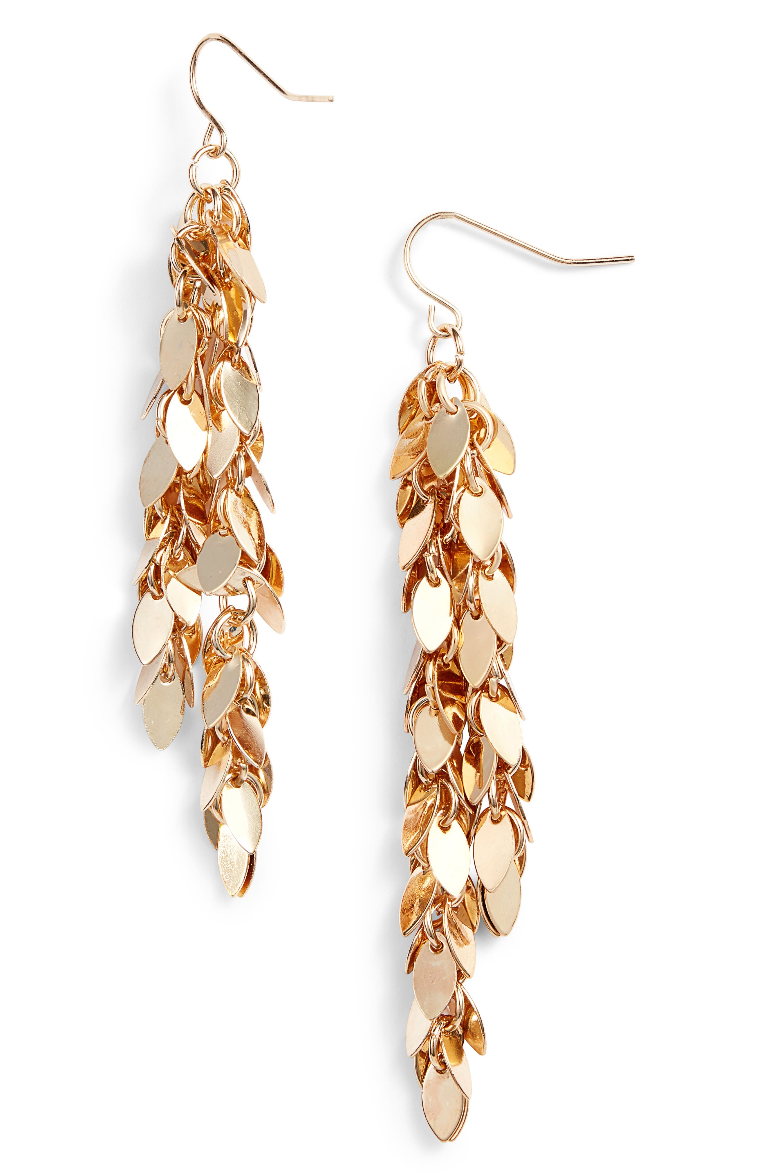 Petal Duster Earrings,                             Main thumbnail 2, color,