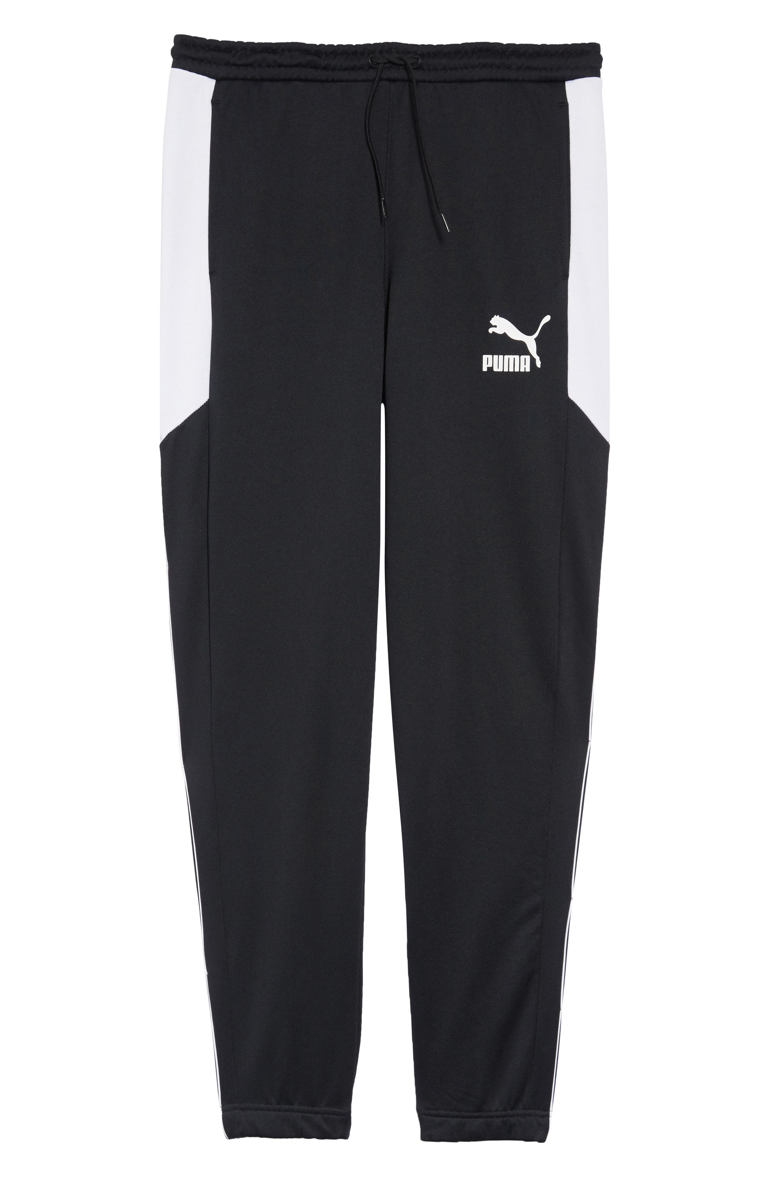 Retro Sweatpants,                             Alternate thumbnail 6, color,                             PUMA BLACK