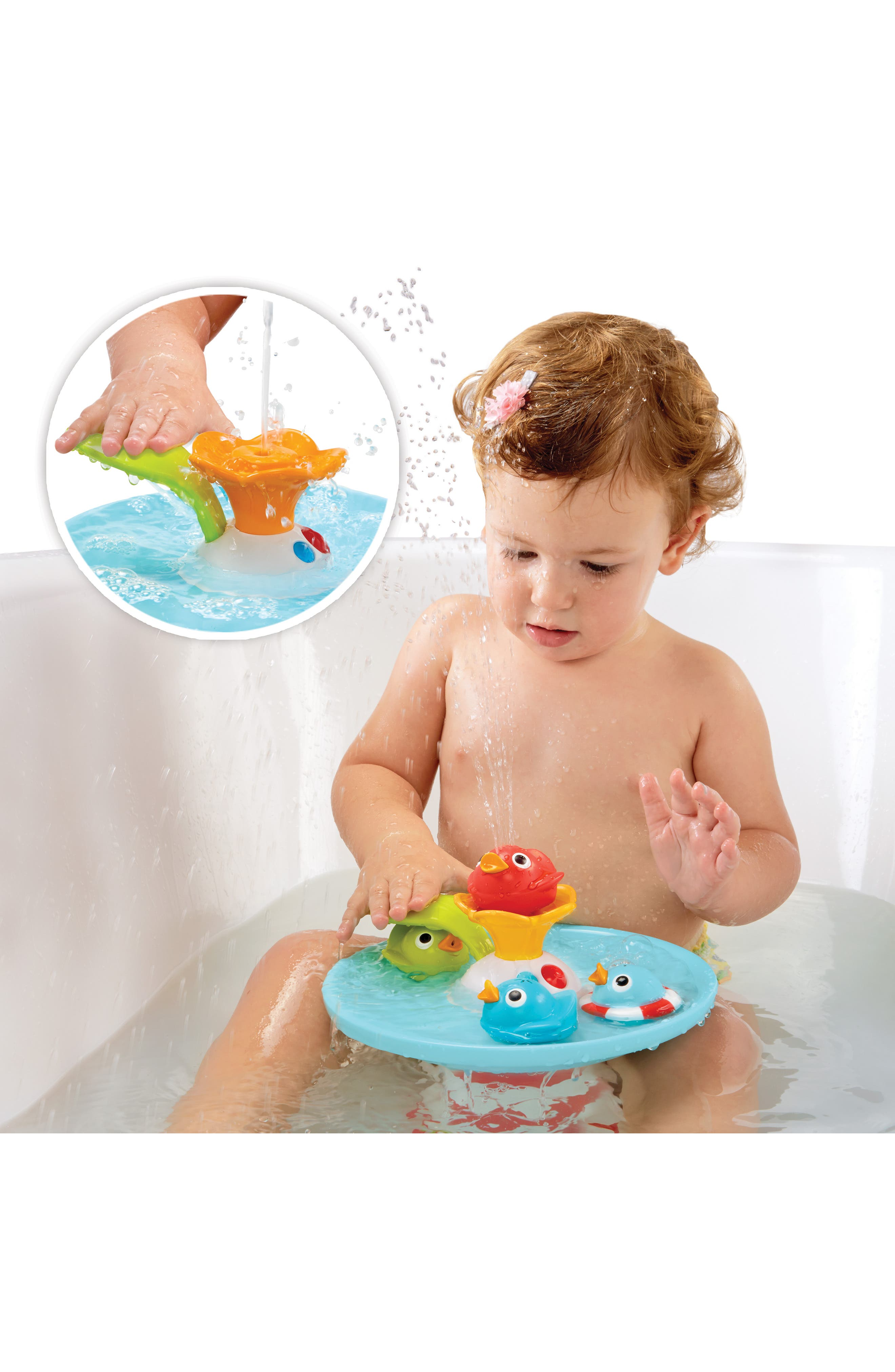 Musical Duck Race Bath Toy,                             Alternate thumbnail 7, color,                             RED