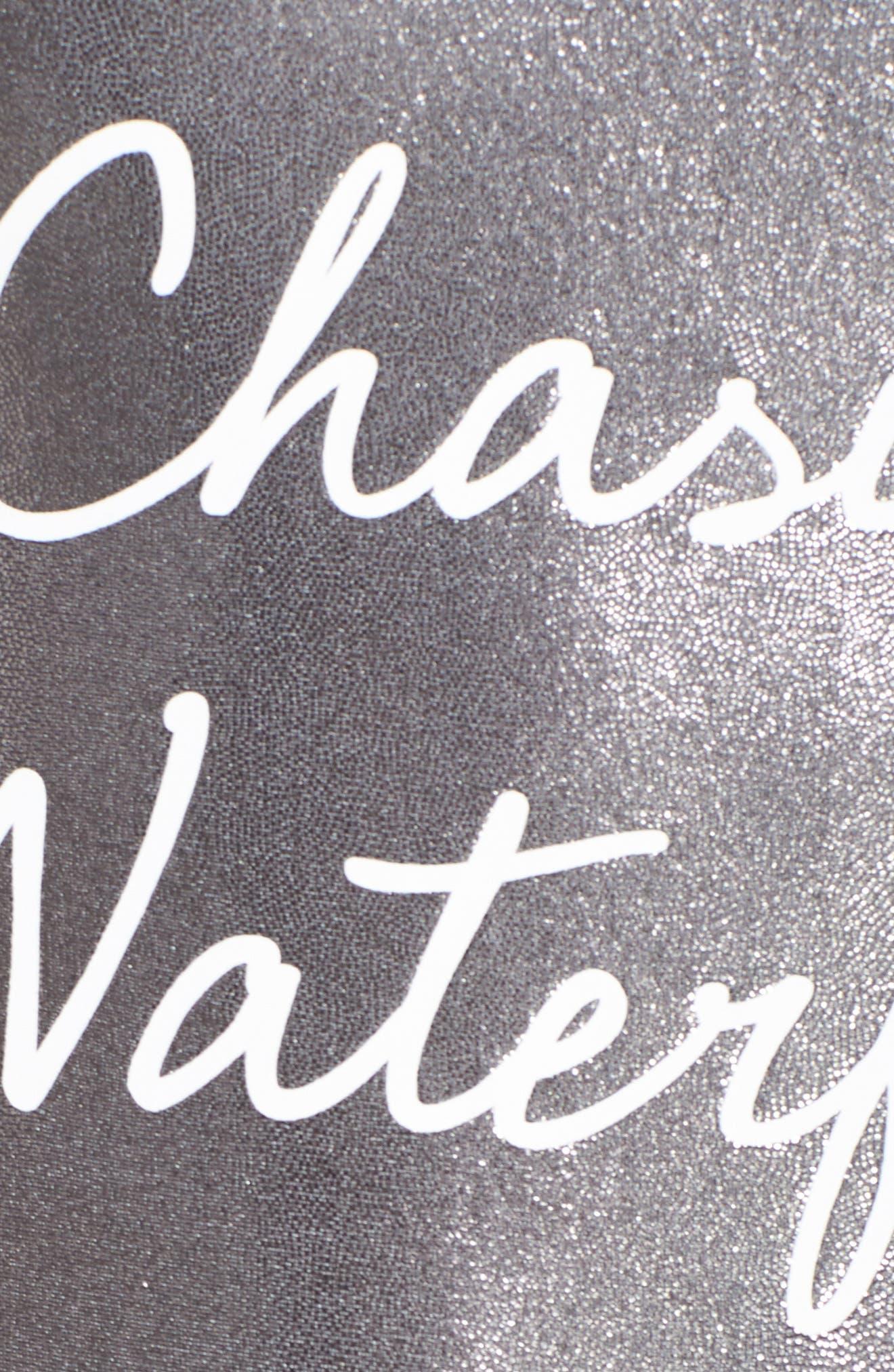 Chasing Waterfalls Metallic One-Piece Swimsuit,                             Alternate thumbnail 5, color,                             040