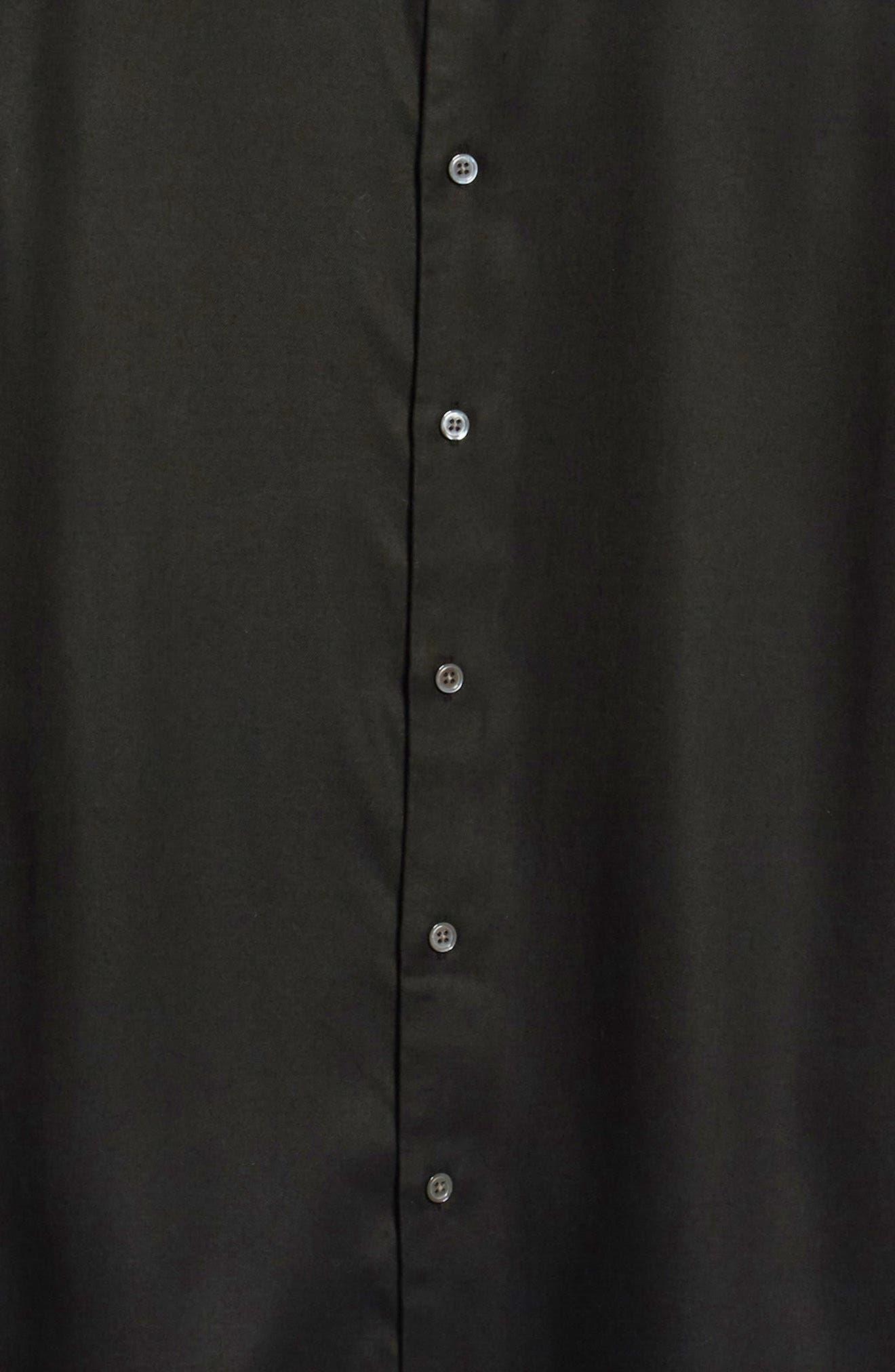 Air Clean Regular Fit Sport Shirt,                             Alternate thumbnail 6, color,                             BLACK