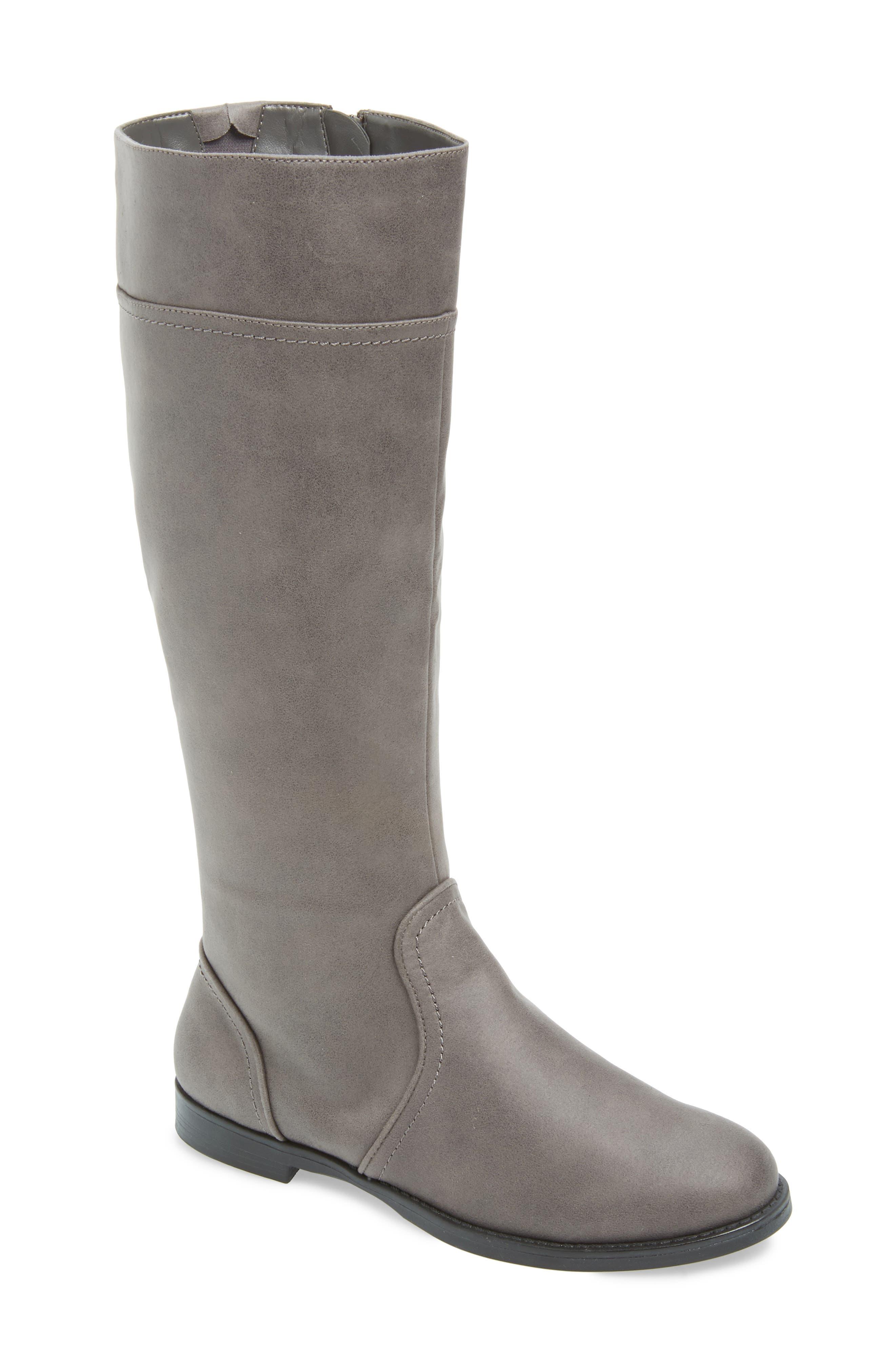 Rebecca II Knee High Boot, Main, color, GREY