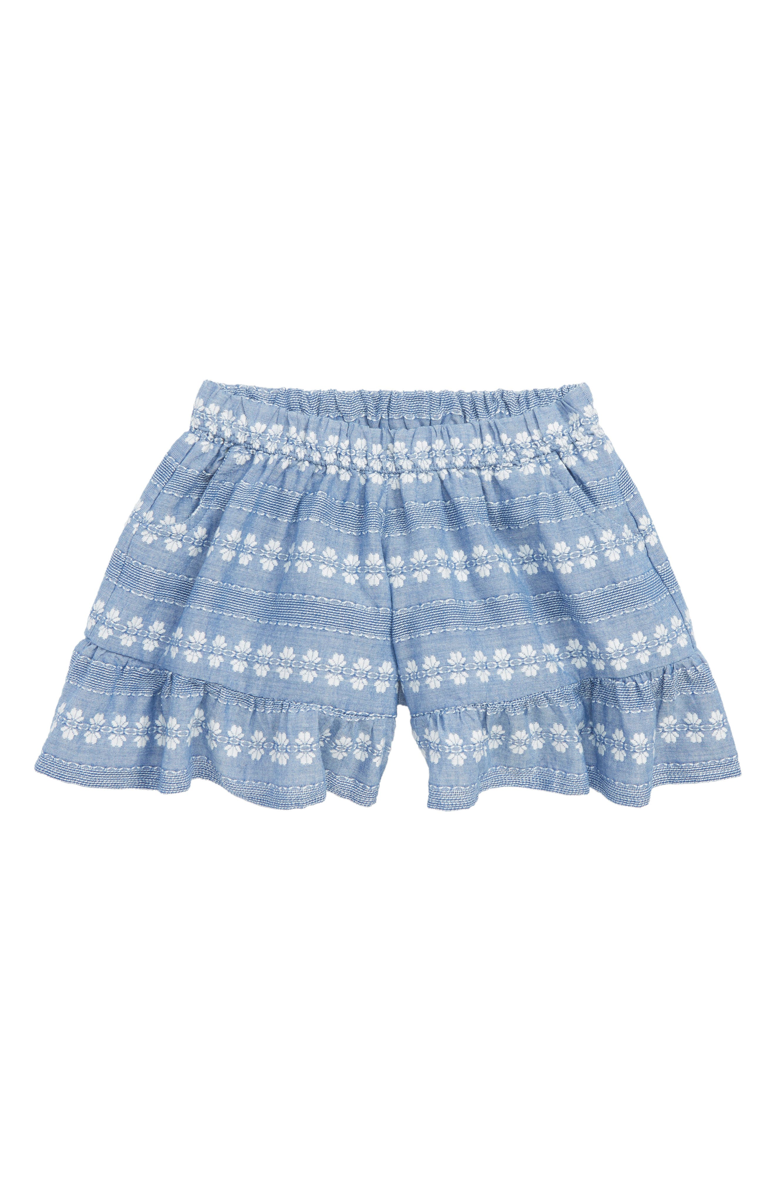 Madeline Embroidered Shorts,                         Main,                         color, 450