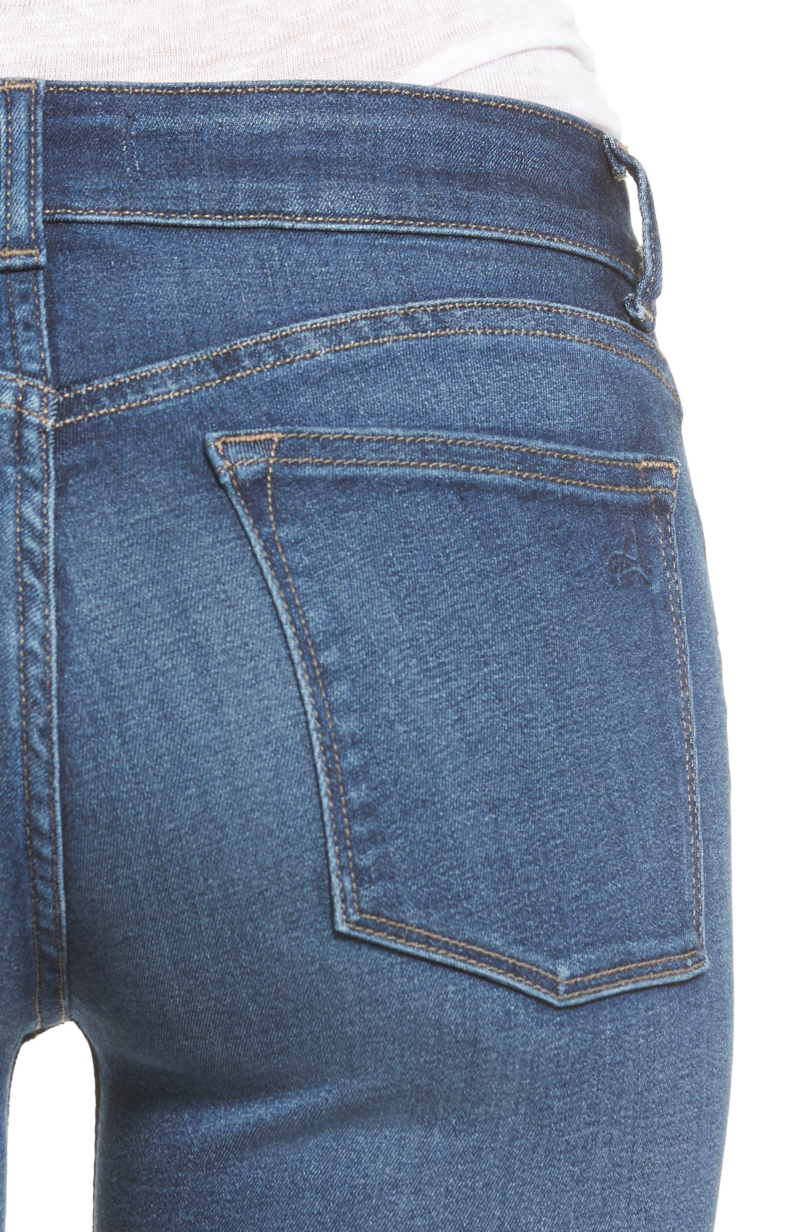 Emma Power Legging Jeans,                             Alternate thumbnail 4, color,                             405