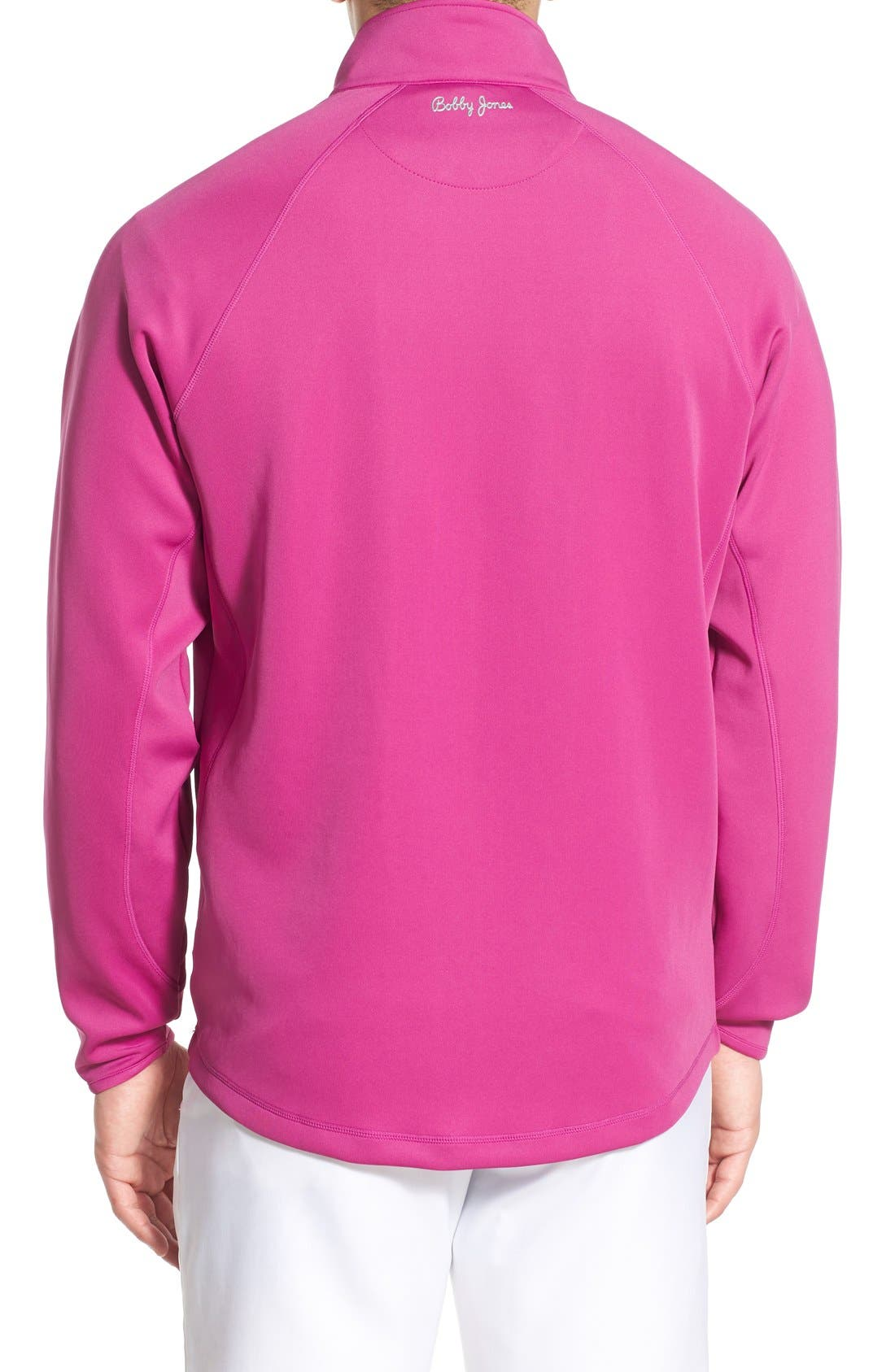 XH2O Crawford Stretch Quarter Zip Golf Pullover,                             Alternate thumbnail 23, color,