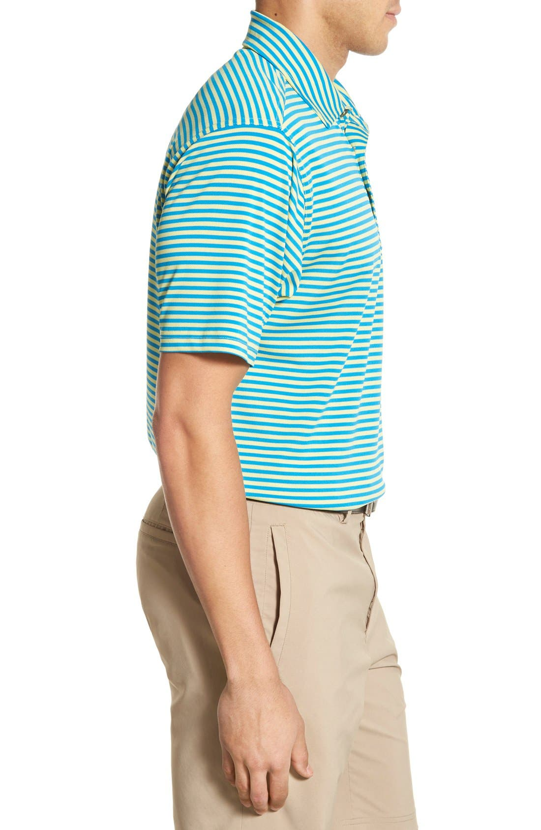 XH2O Feed Stripe Stretch Golf Polo,                             Alternate thumbnail 50, color,