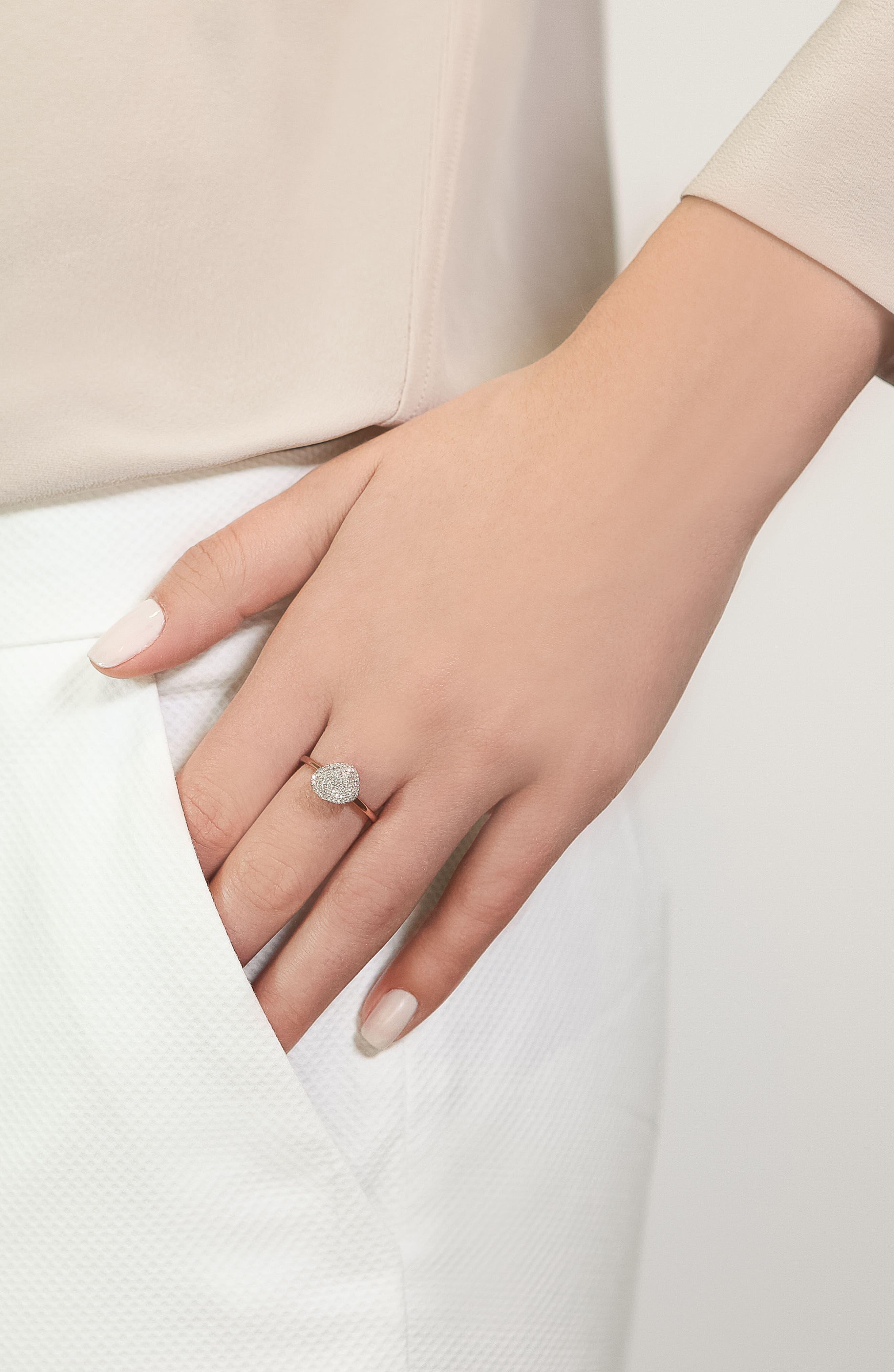 Nura Small Pebble Stacking Ring,                             Alternate thumbnail 2, color,