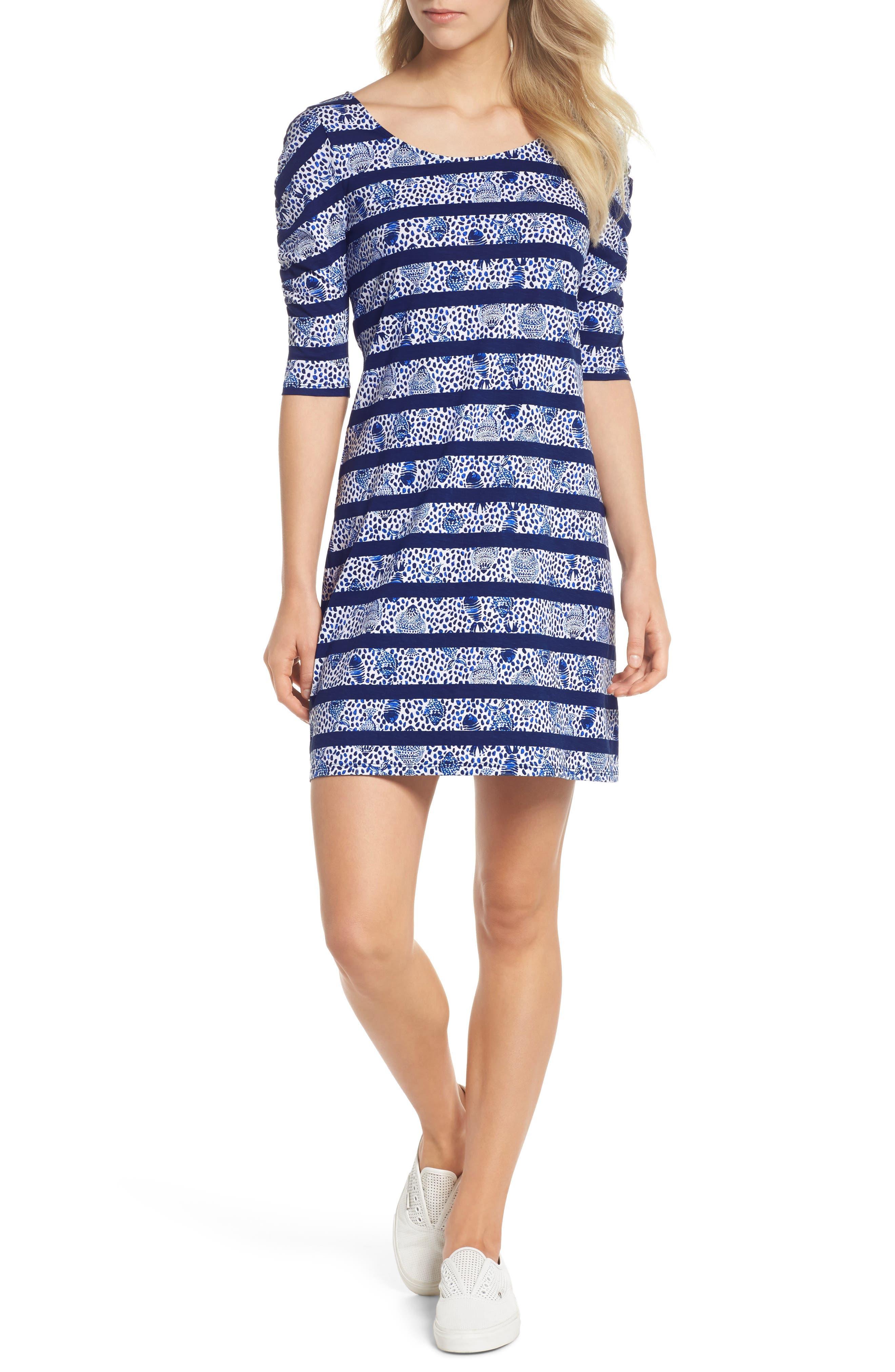 Lajolla Stripe Dress,                             Main thumbnail 1, color,