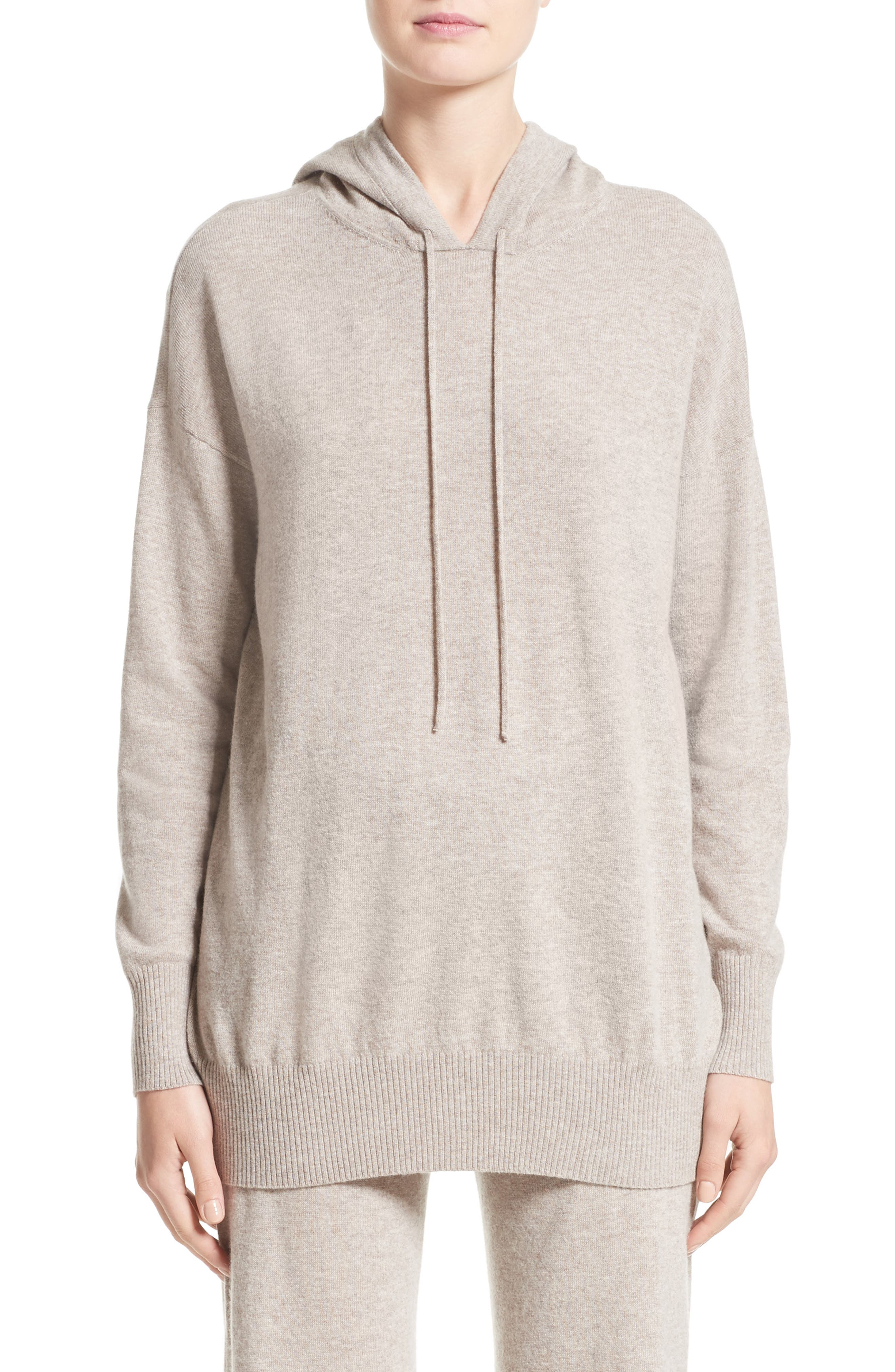 Nitra Wool & Cashmere Hooded Sweater,                             Main thumbnail 1, color,