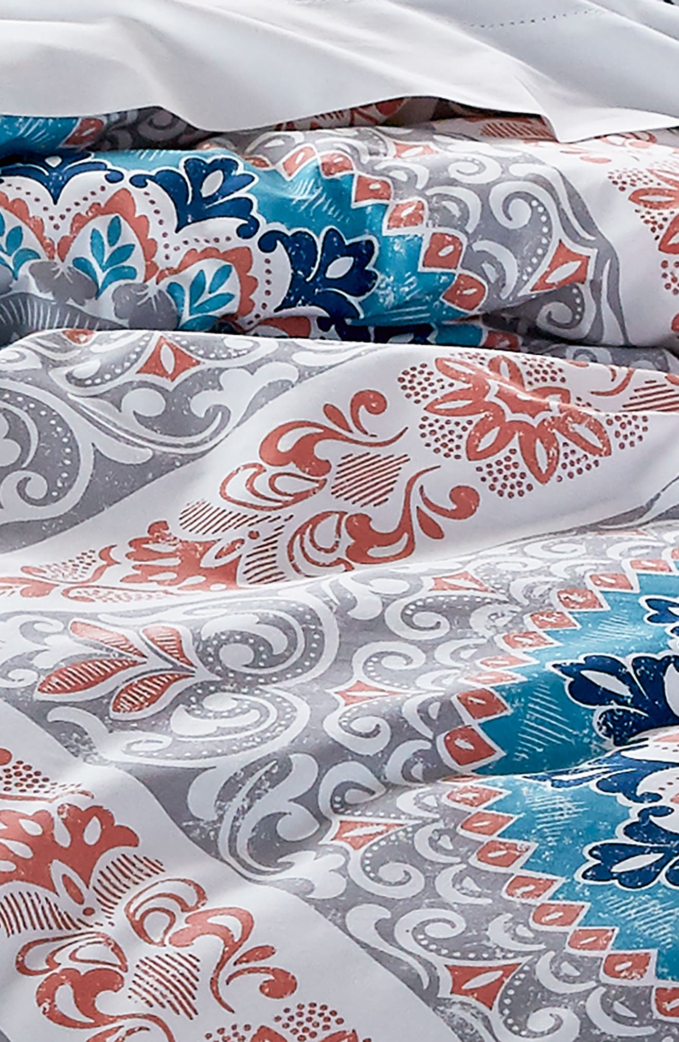 Surfboard Medallion Comforter & Sham Set,                             Alternate thumbnail 2, color,                             020