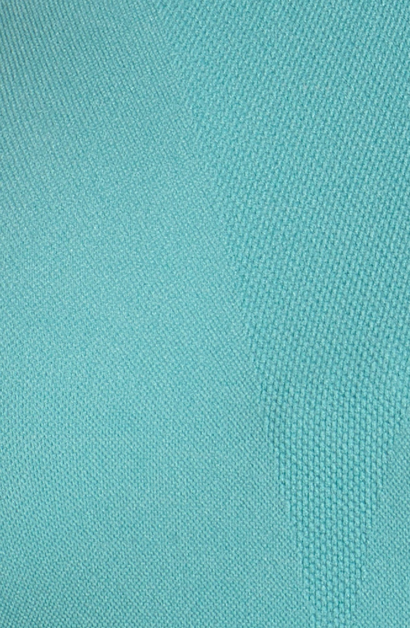 Relay Sports Bra,                             Alternate thumbnail 6, color,                             TEAL MEADOW