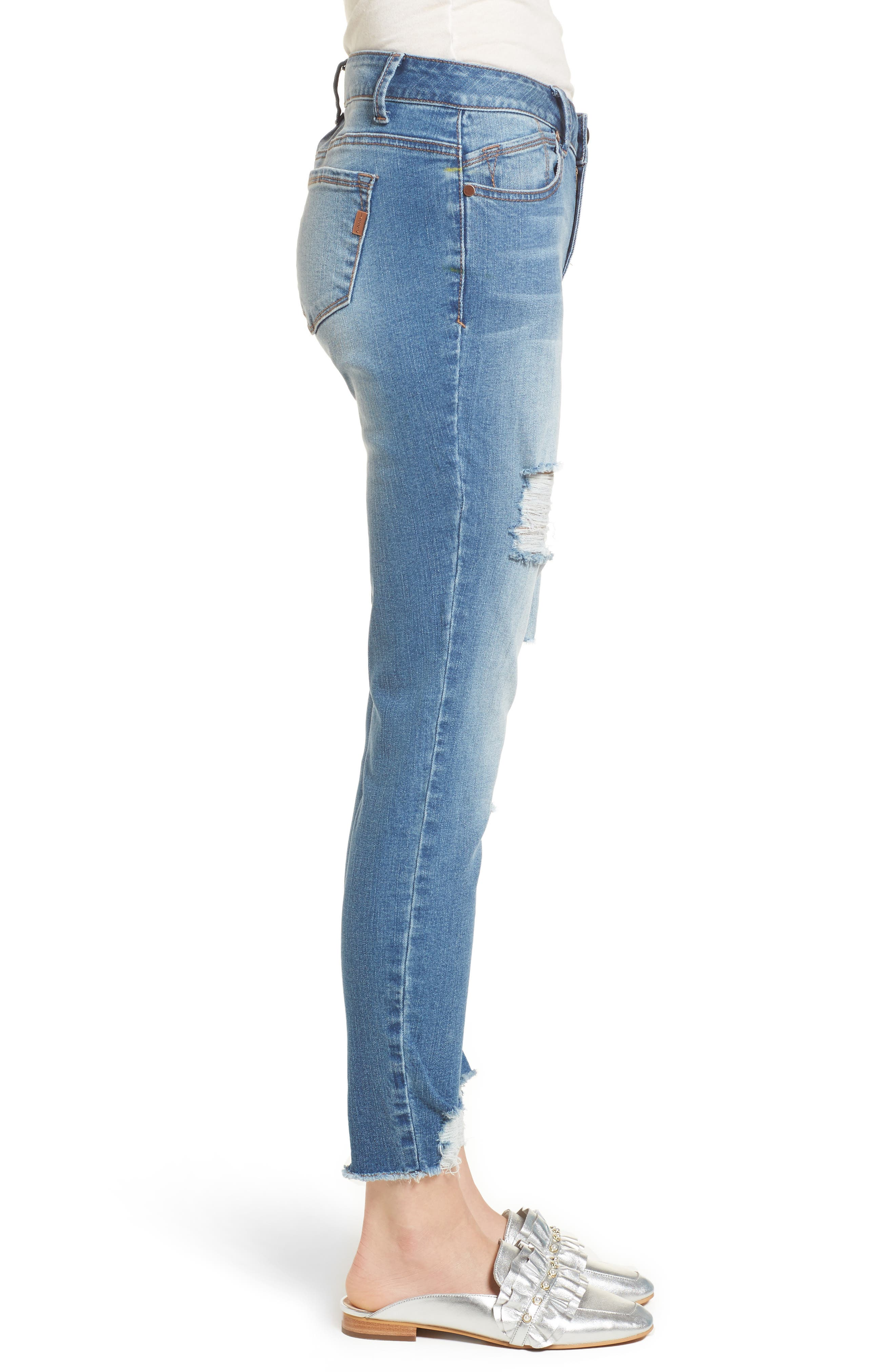 Decon Ripped Skinny Jeans,                             Alternate thumbnail 3, color,                             426