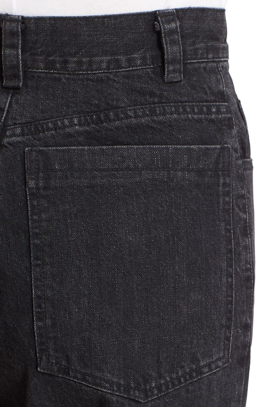 Legion Wide Leg Denim Pants,                             Alternate thumbnail 18, color,