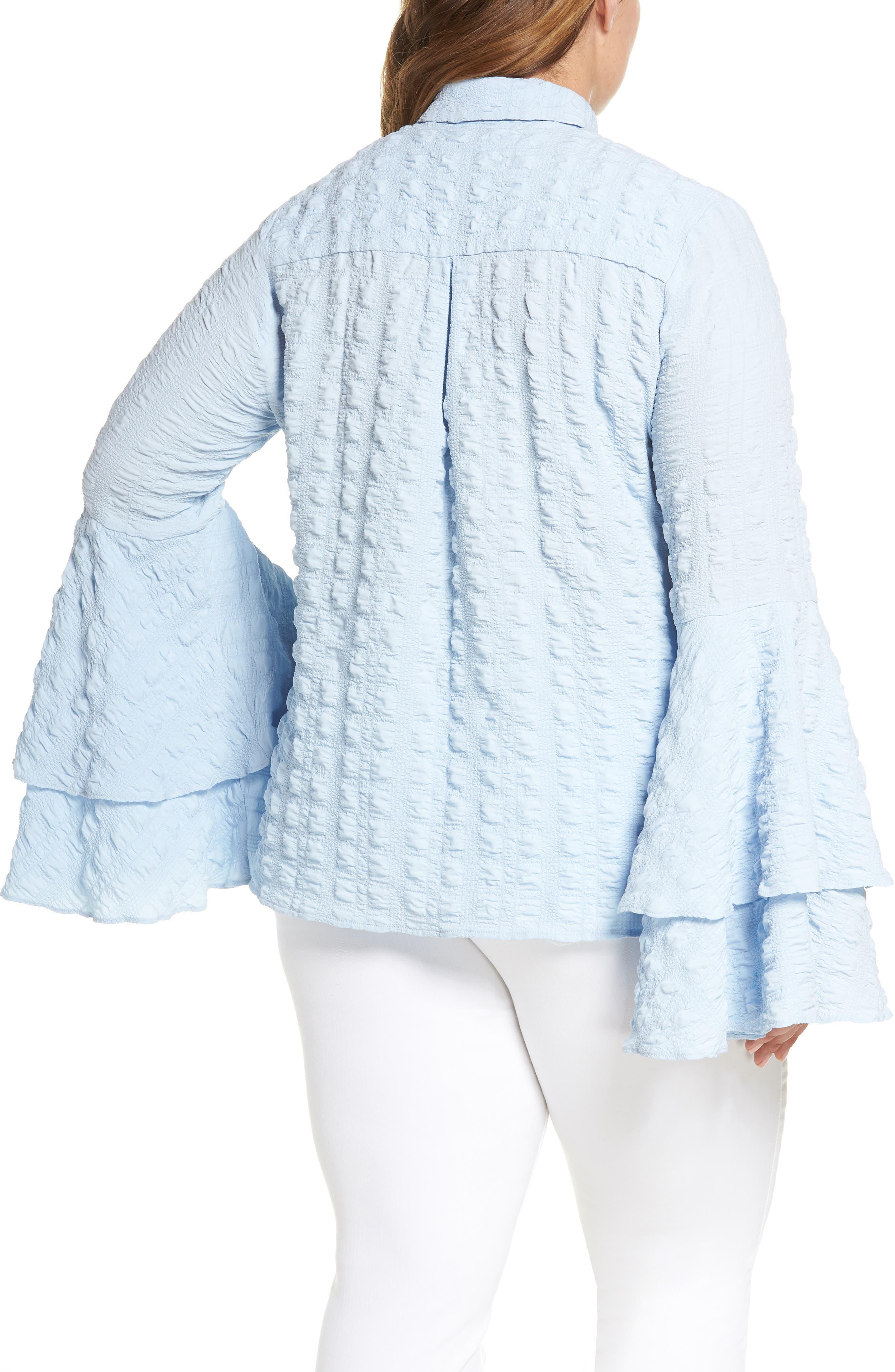 The Tuva Bell Sleeve Shirt,                             Alternate thumbnail 2, color,                             400