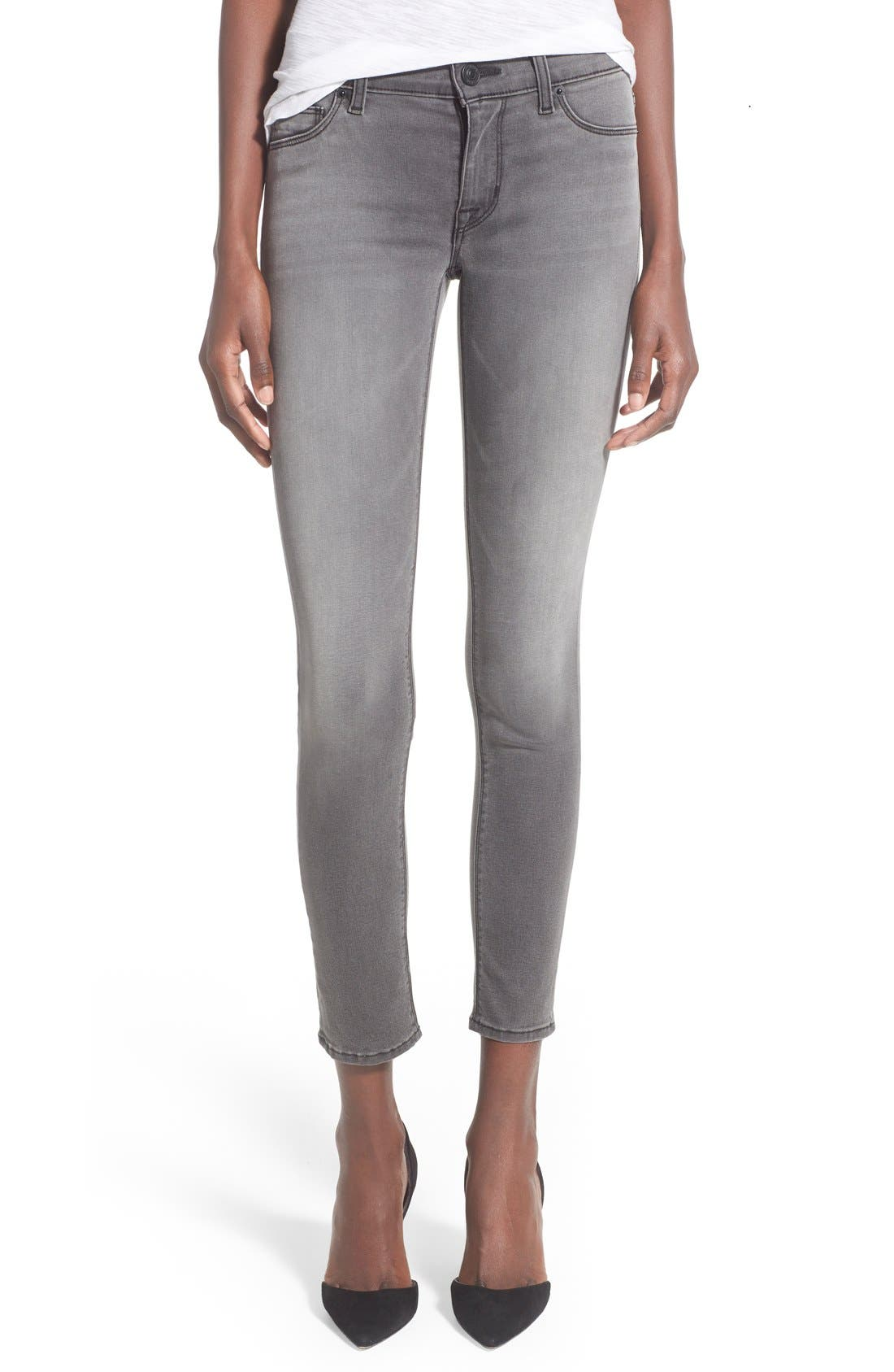 'Krista' Ankle Super Skinny Jeans,                             Main thumbnail 1, color,                             020