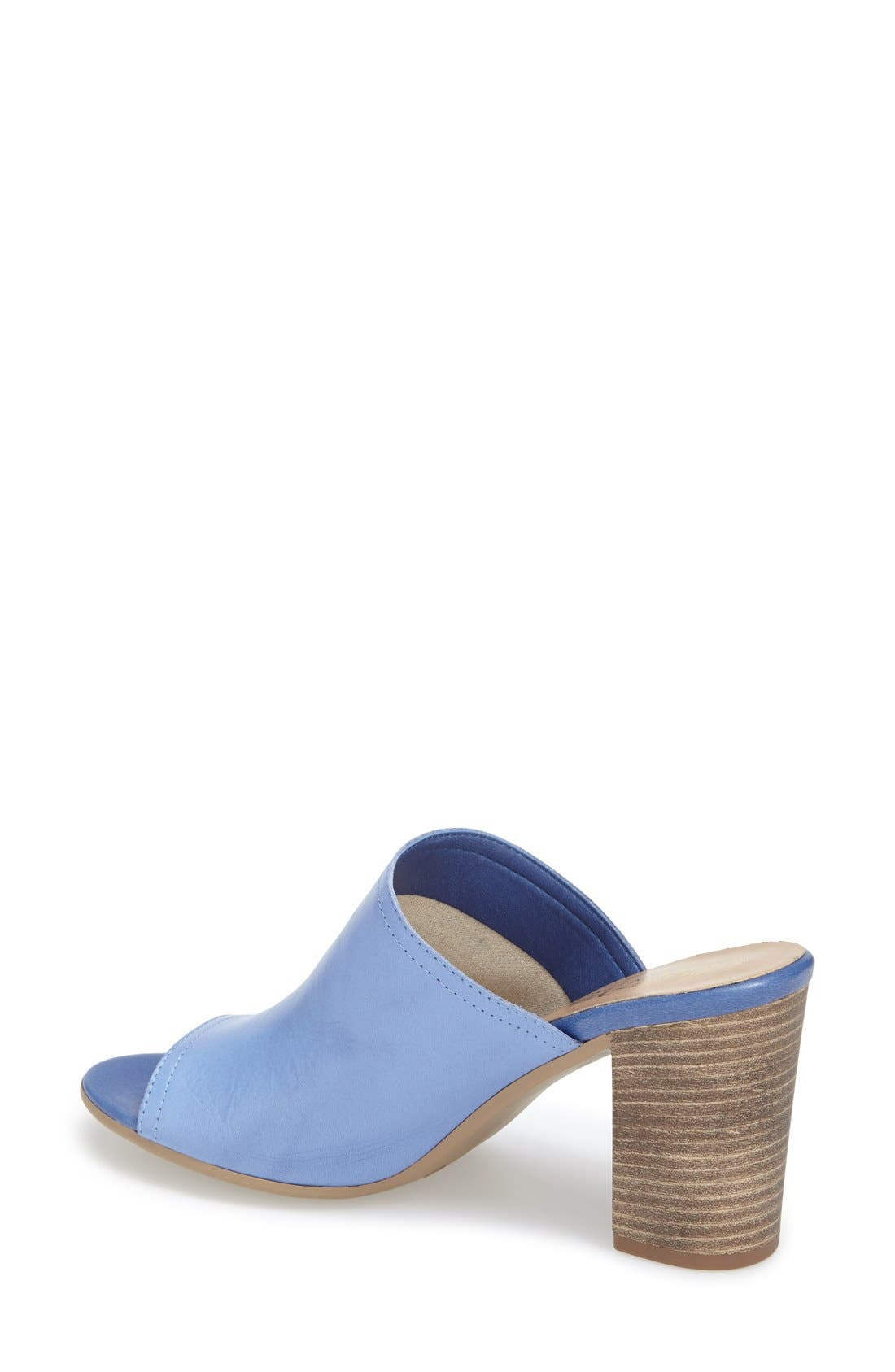 'Arno' Leather Mule,                             Alternate thumbnail 9, color,