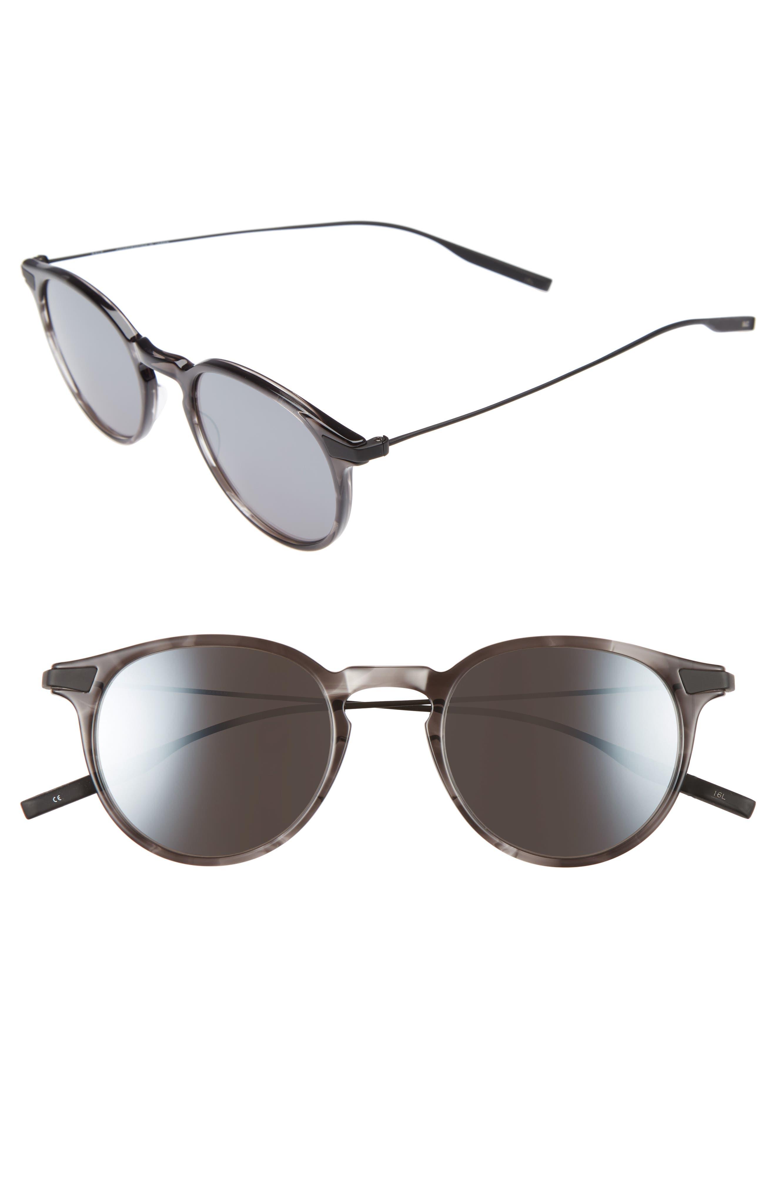 Rick 48mm Polarized Round Sunglasses,                         Main,                         color, 020