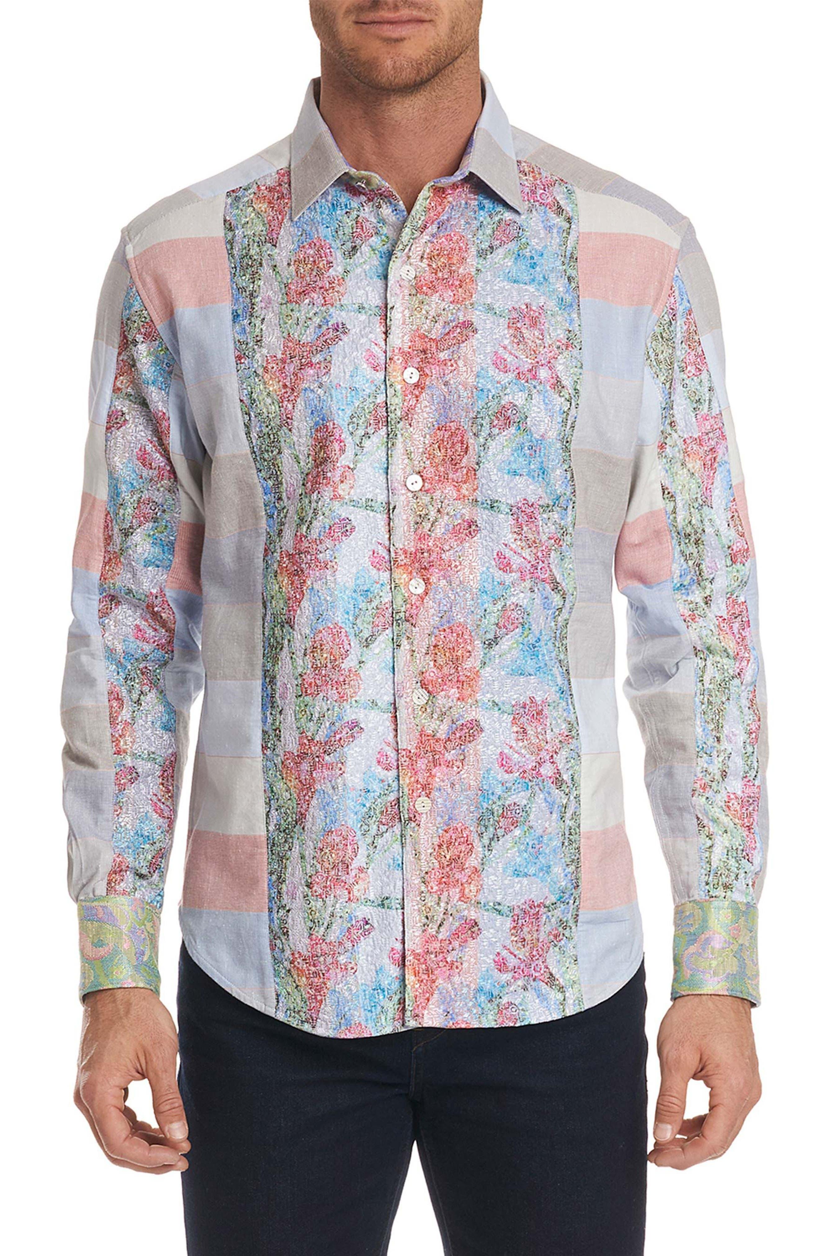 Denim Rays Limited Edition Sport Shirt,                             Main thumbnail 1, color,                             400