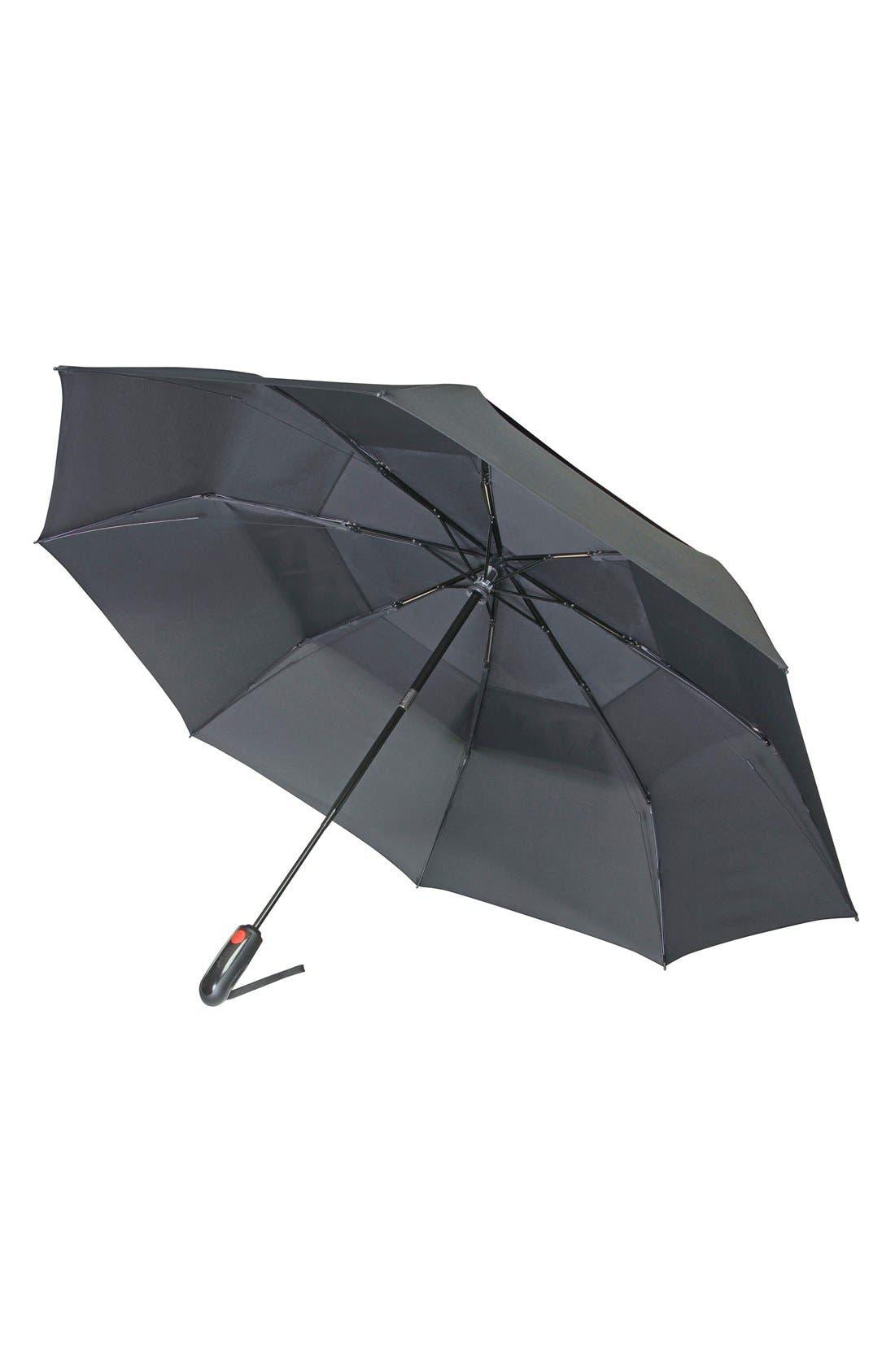 'Xtreme Duomatic' Umbrella,                             Alternate thumbnail 2, color,                             BLACK