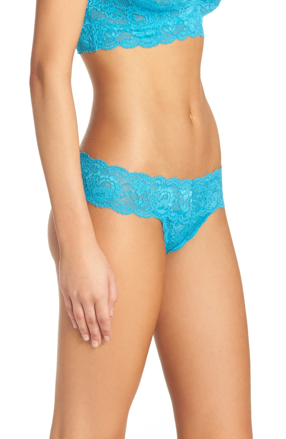 'Never Say Never Cutie' Thong,                             Alternate thumbnail 214, color,