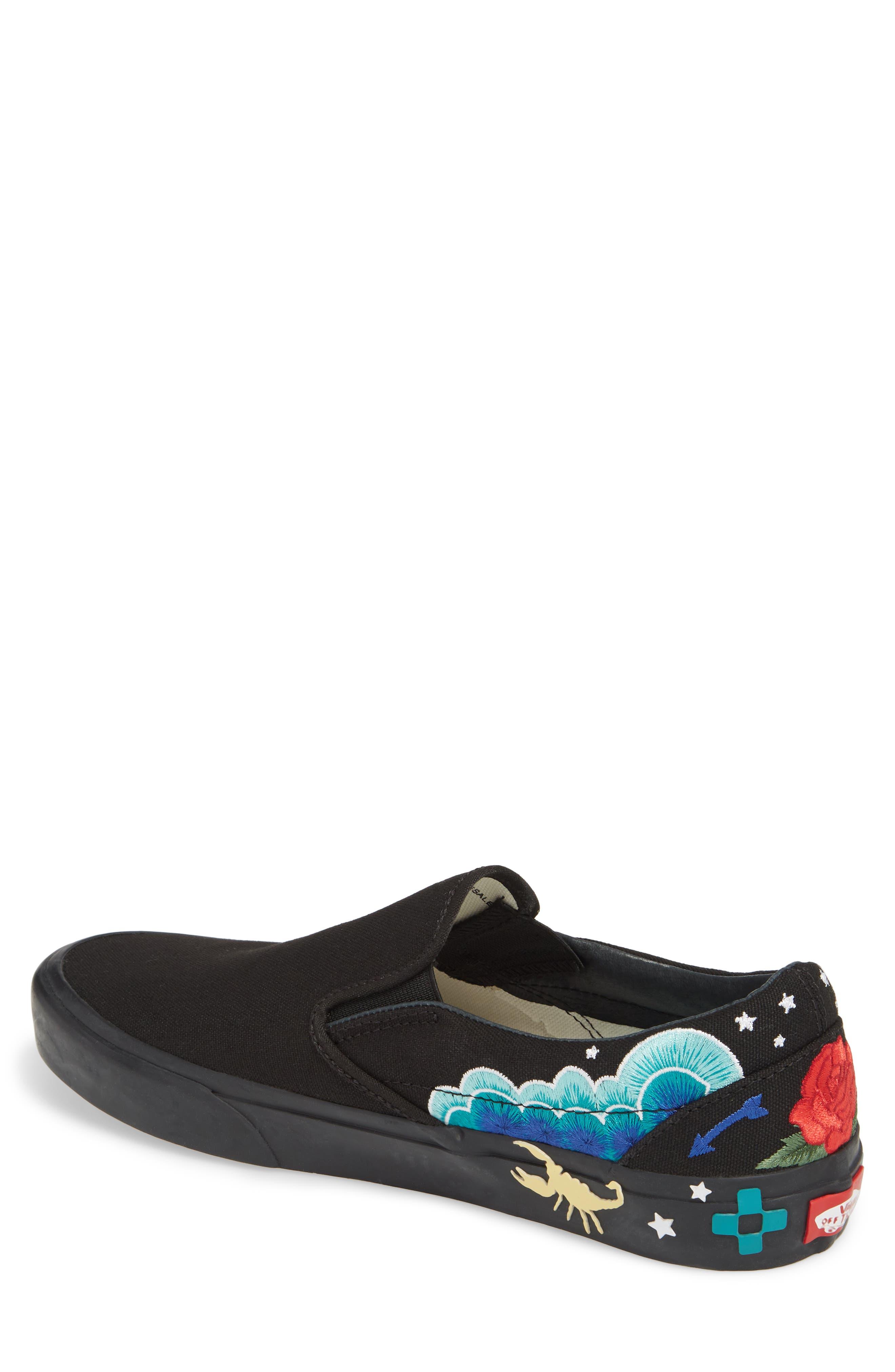 Desert Embellish Classic Slip-On Sneaker,                             Alternate thumbnail 2, color,