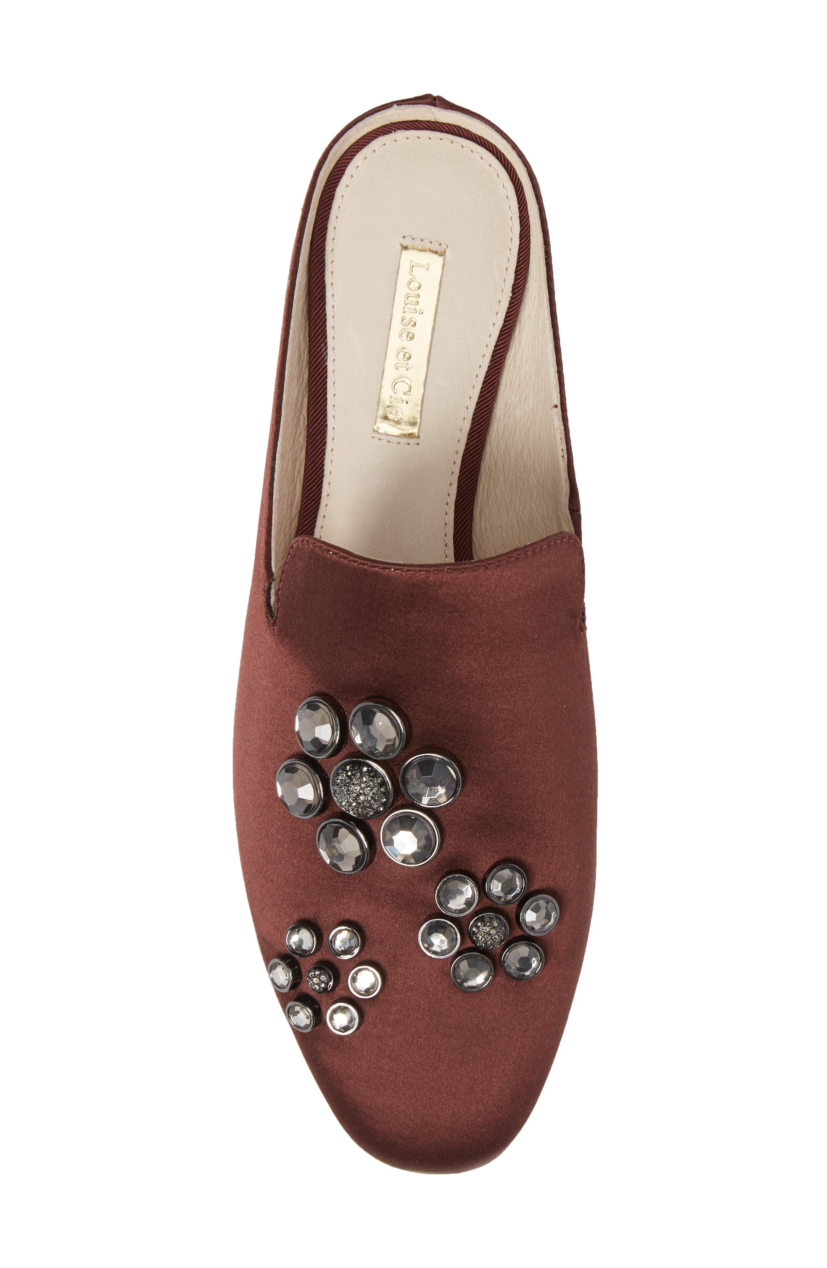 Felix II Crystal Flower Loafer Mule,                             Alternate thumbnail 19, color,