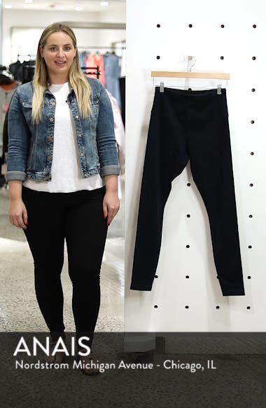 High Waist Denim Leggings, sales video thumbnail
