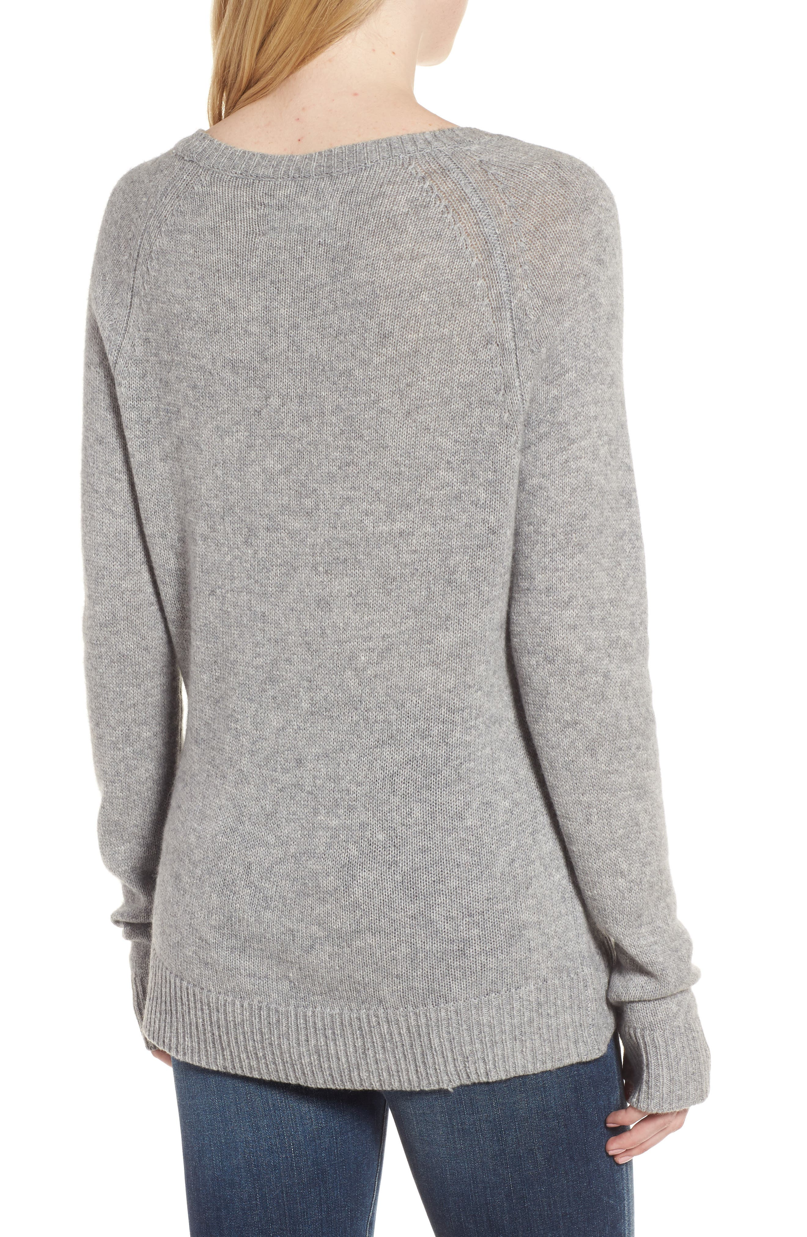 Baly Bis Cashmere Sweater,                             Alternate thumbnail 2, color,