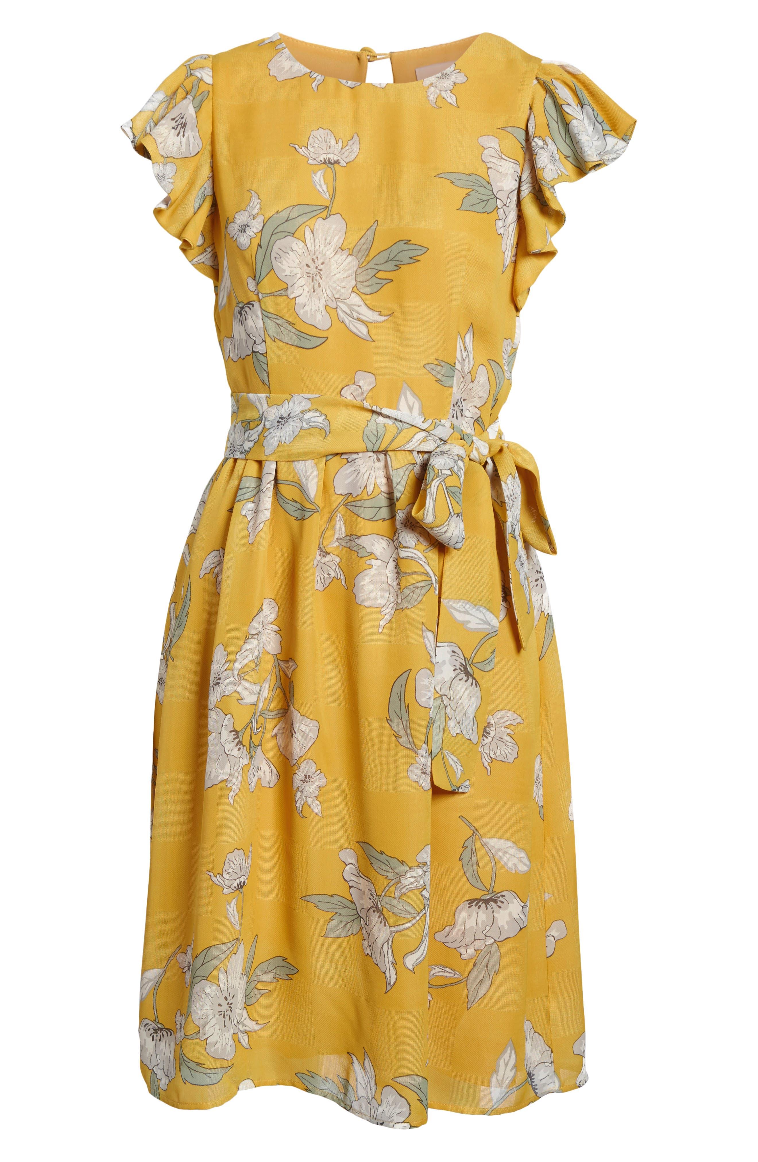 Chriselle x J.O.A. Fit & Flare Dress,                             Alternate thumbnail 7, color,                             700