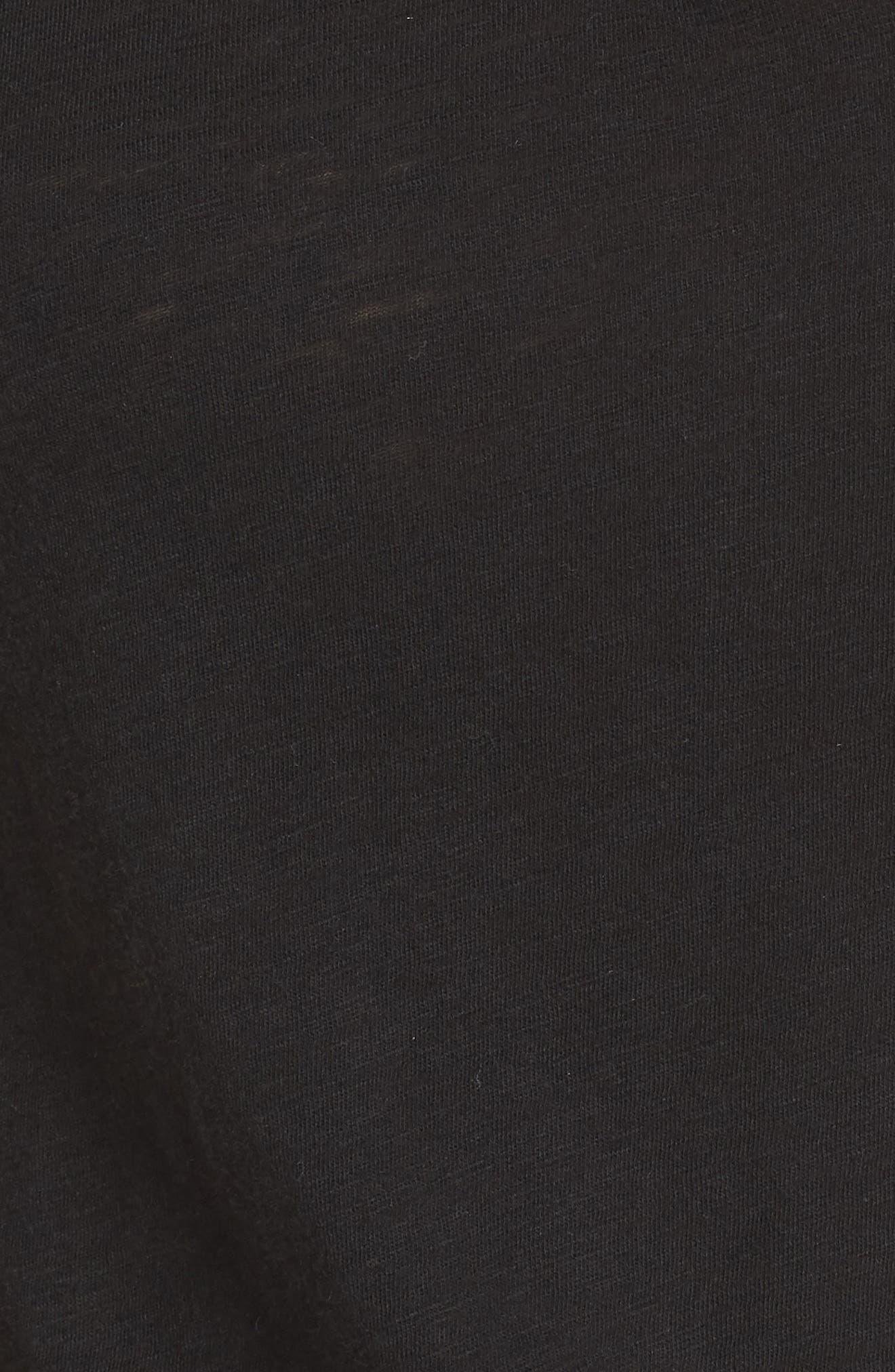 I Heart Sleep Pajamas,                             Alternate thumbnail 5, color,                             BLACK