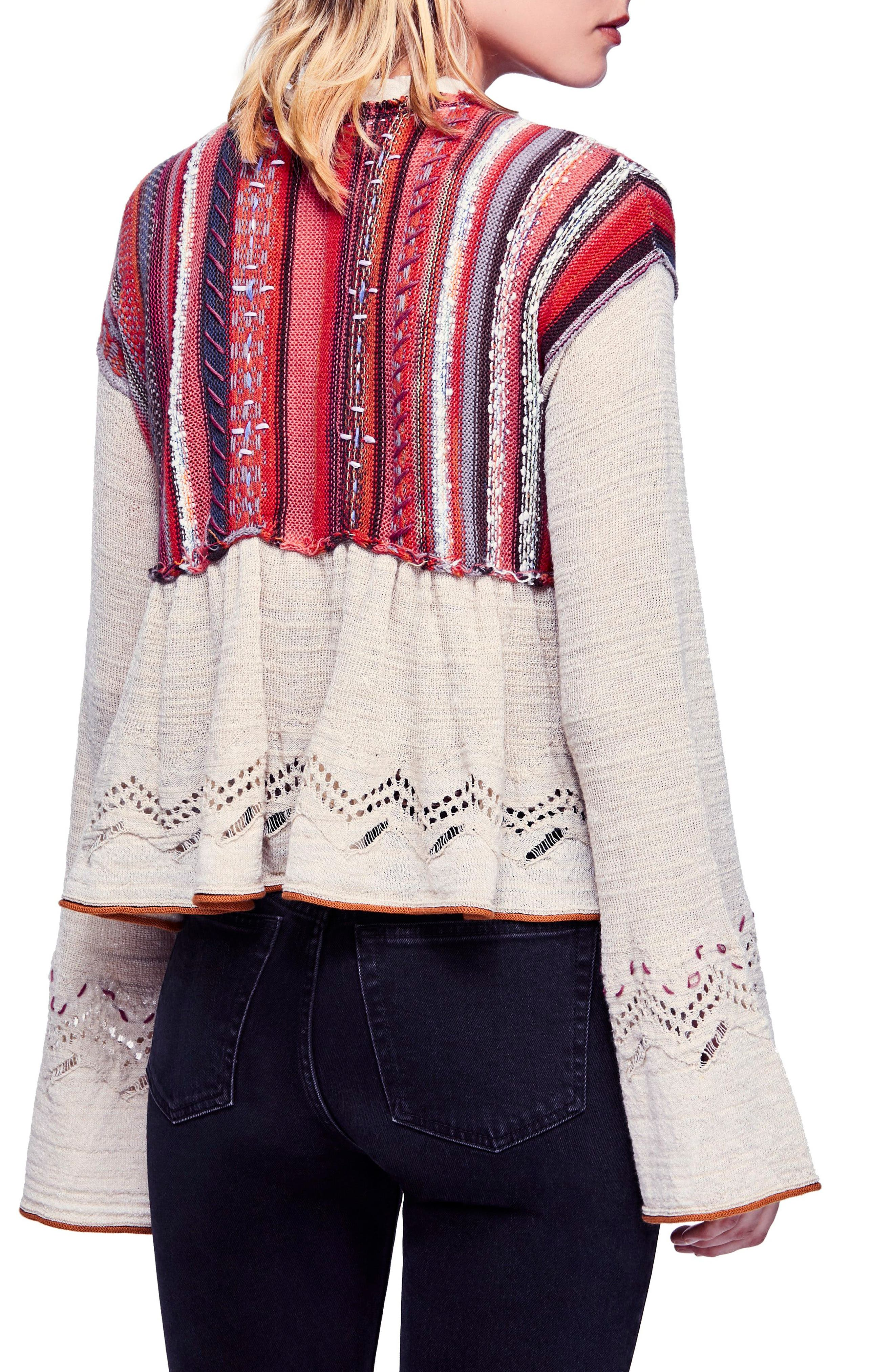 FREE PEOPLE,                             Meadow Lakes Sweater,                             Alternate thumbnail 2, color,                             903