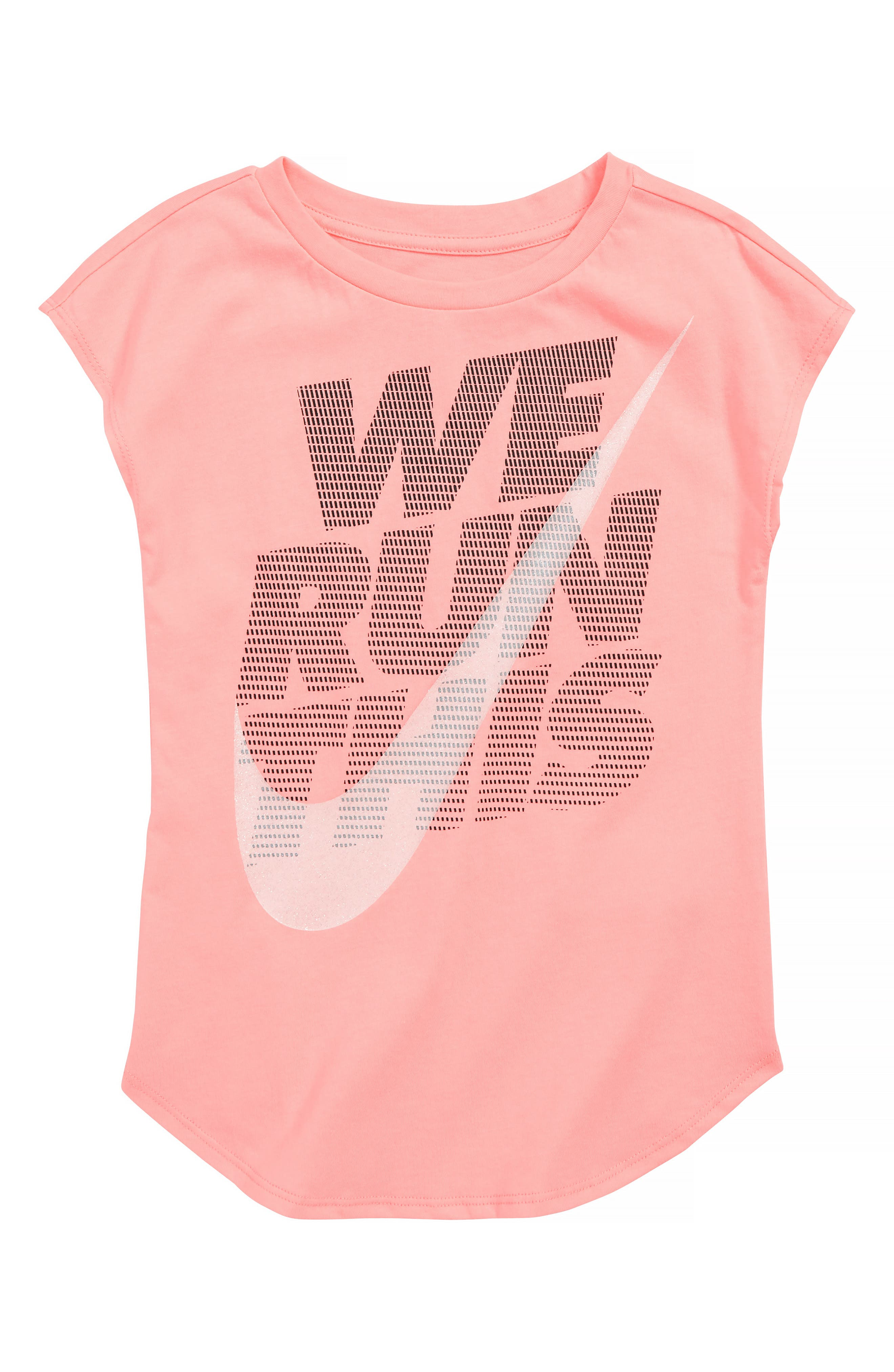 We Run This Graphic Tee,                         Main,                         color, PINK TINT