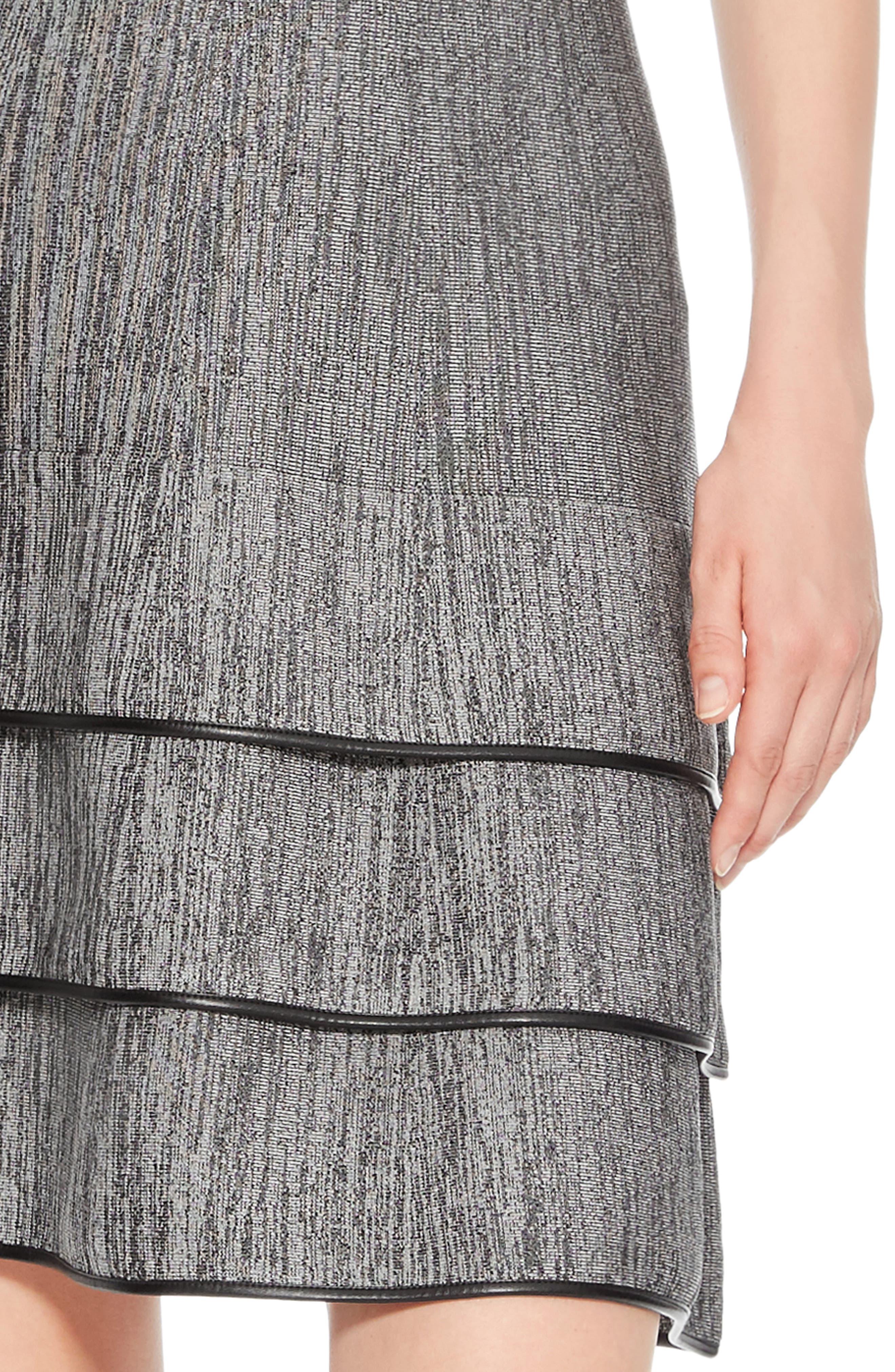 Sondra Knit Dress,                             Alternate thumbnail 4, color,                             005