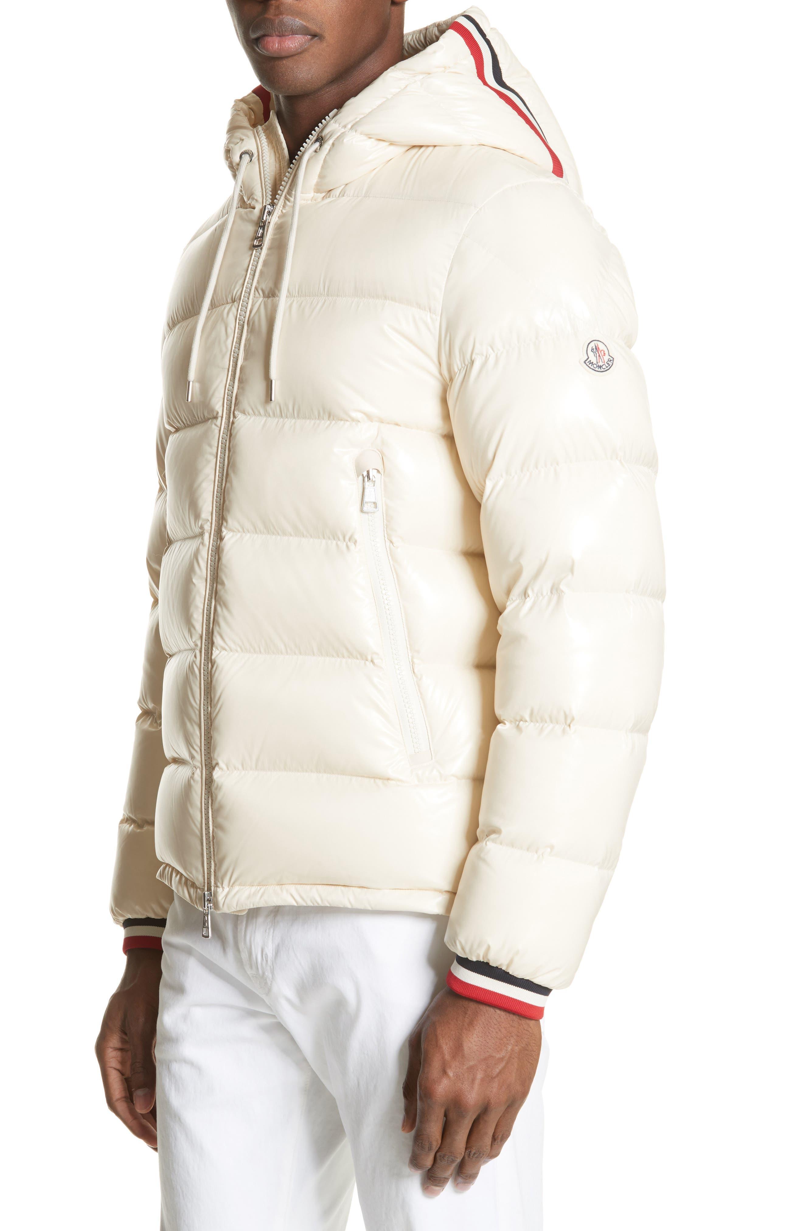 Alberic Giubbotto Laqué Down Jacket,                         Main,                         color, IVORY