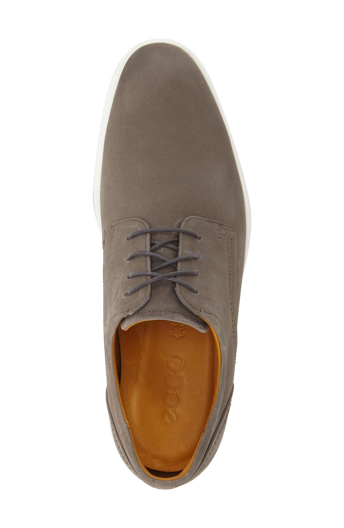'Jared' Leather Oxford,                             Alternate thumbnail 3, color,                             062