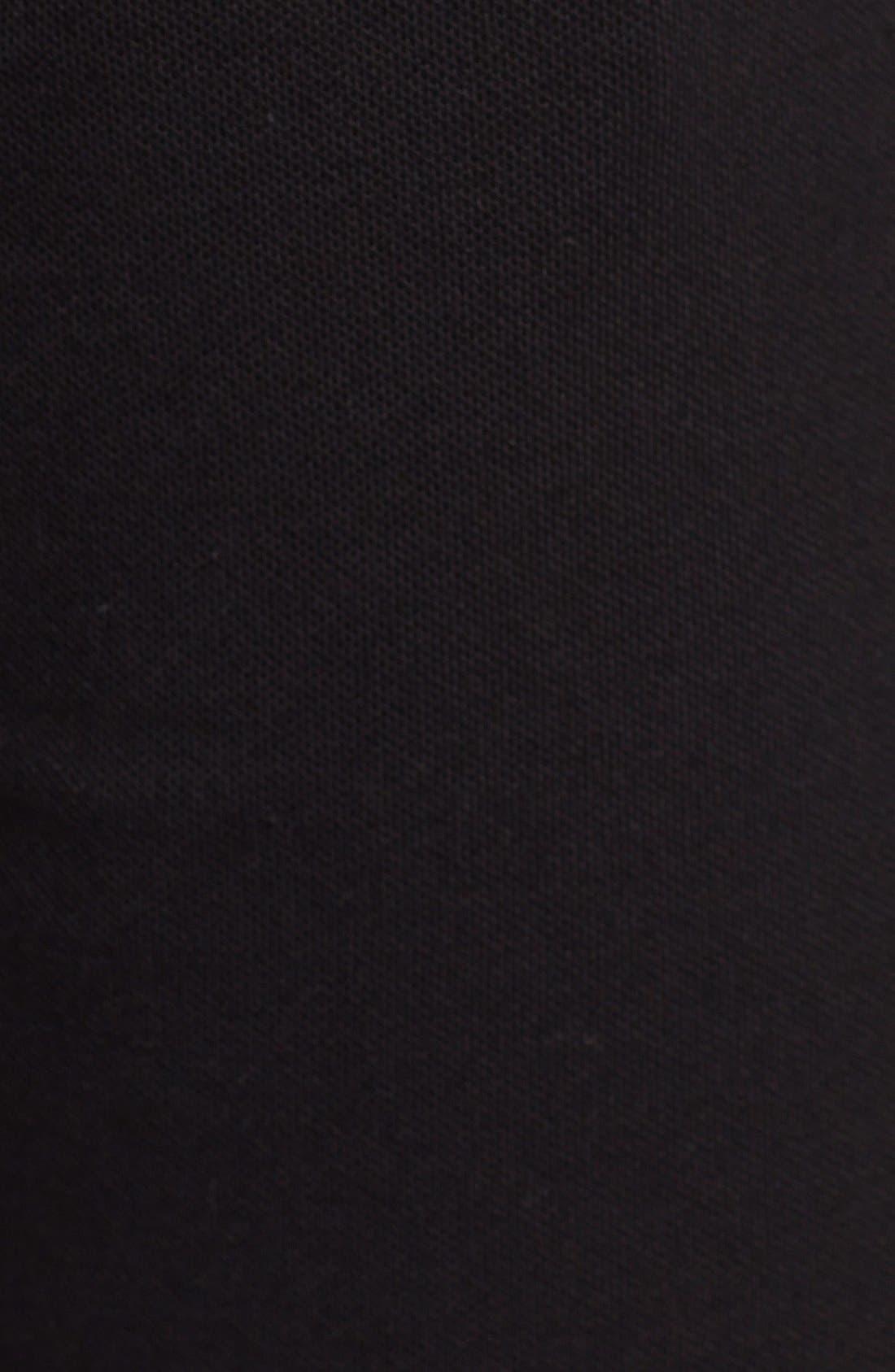 Piqué Lounge Shorts,                             Alternate thumbnail 3, color,                             001
