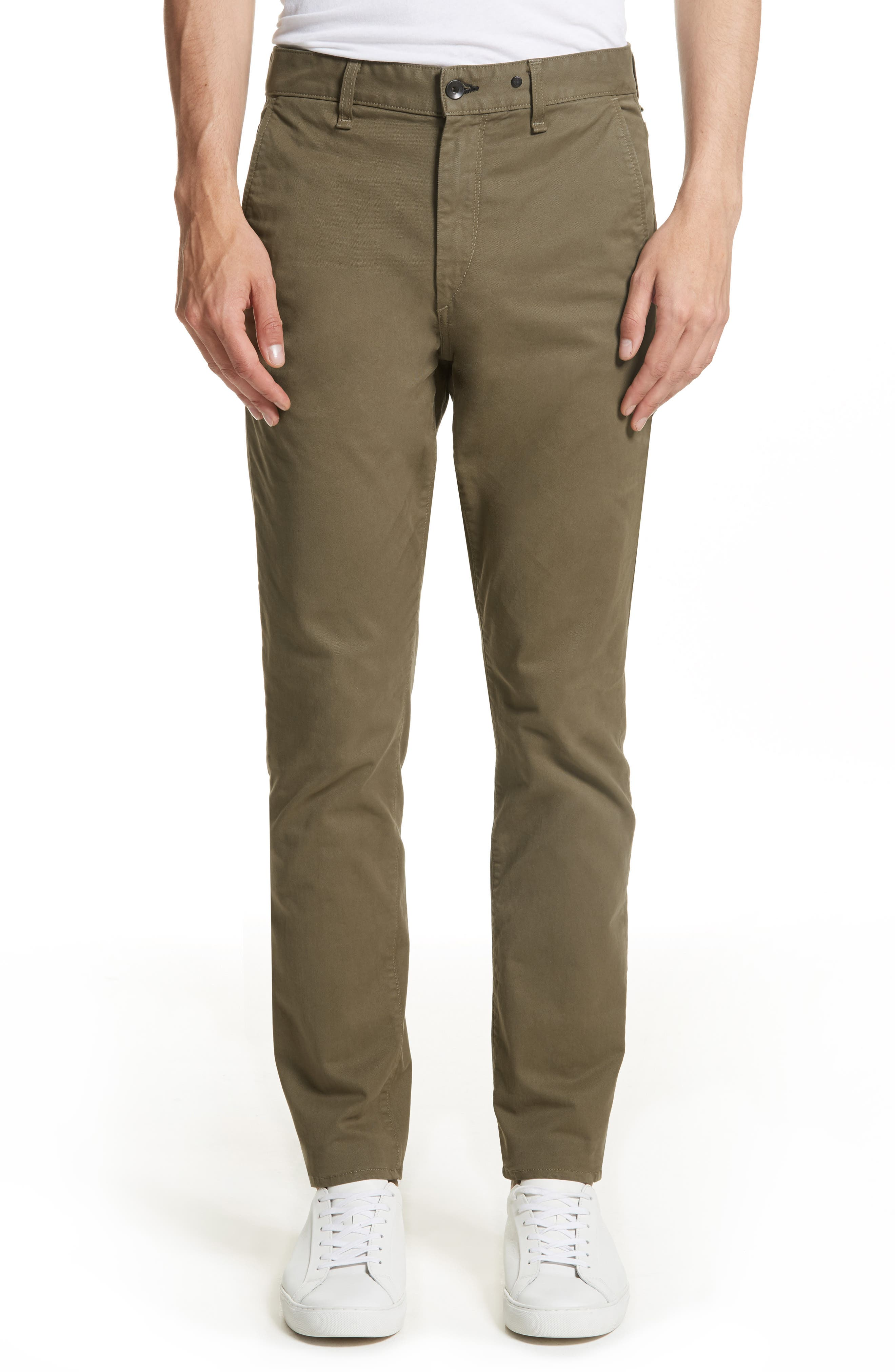 Fit 2 Chinos,                         Main,                         color, ARMY