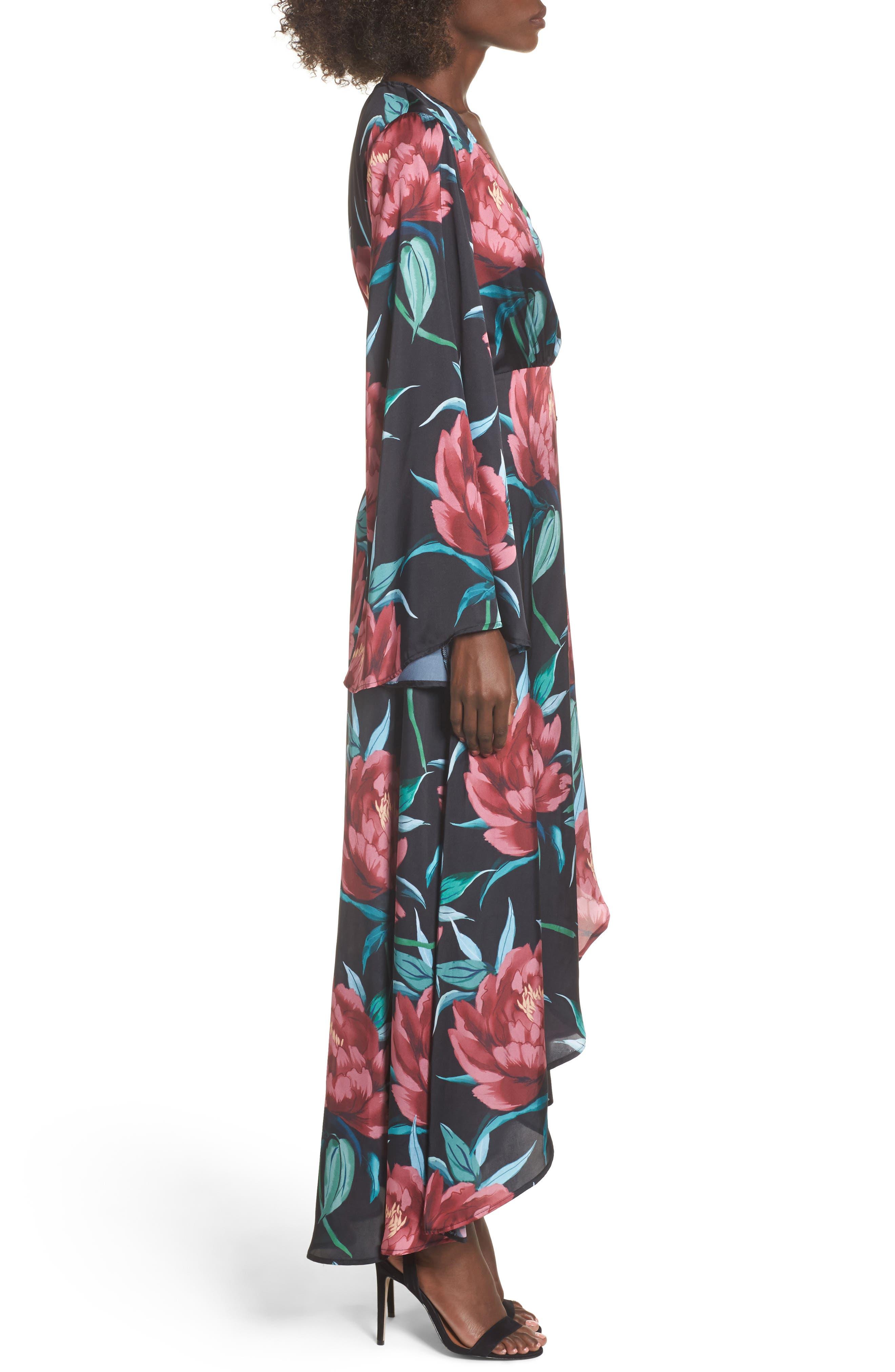 Anita Wrap Maxi Dress,                             Alternate thumbnail 6, color,