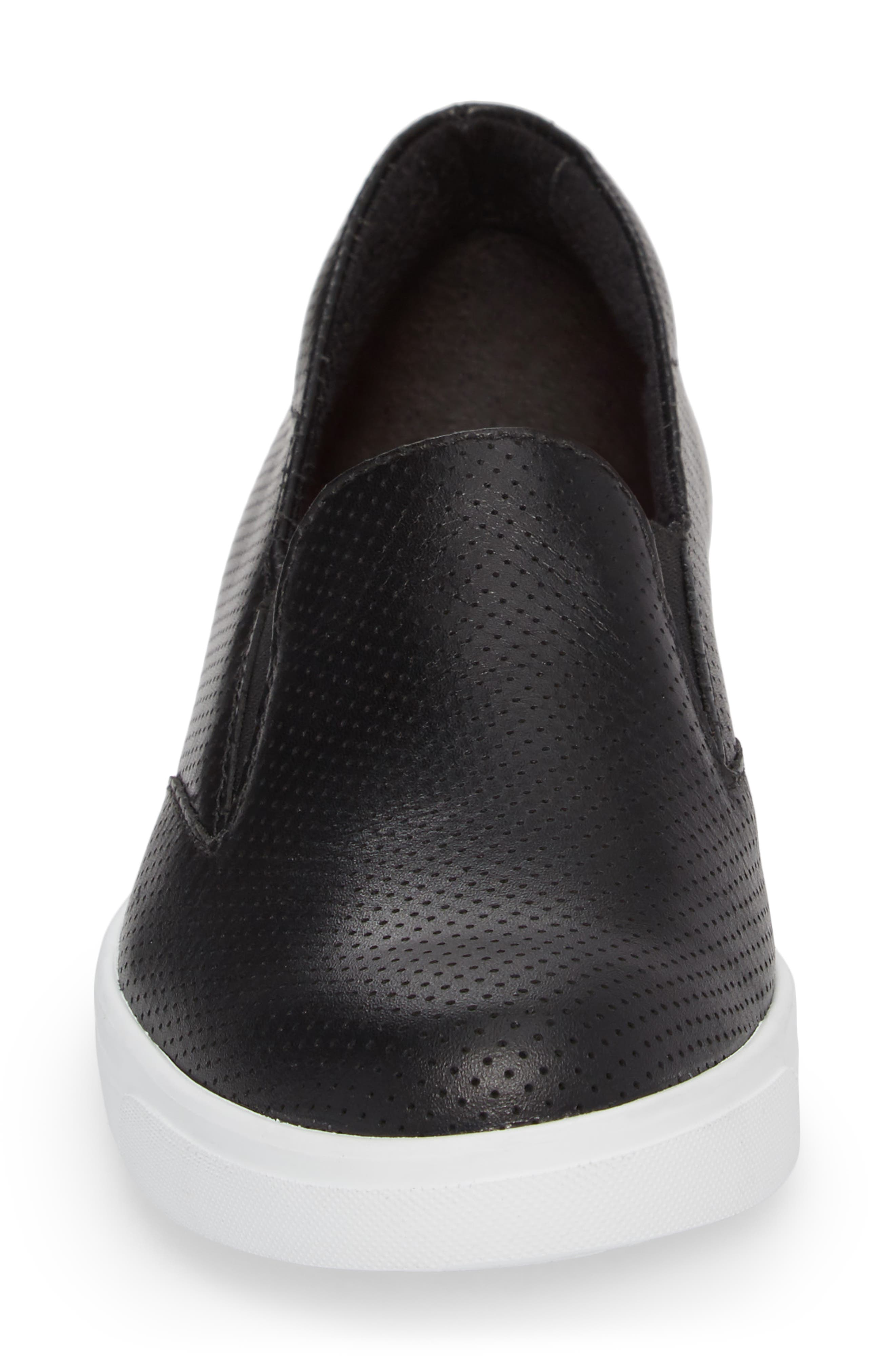 Lulu Slip-On Sneaker,                             Alternate thumbnail 4, color,                             002