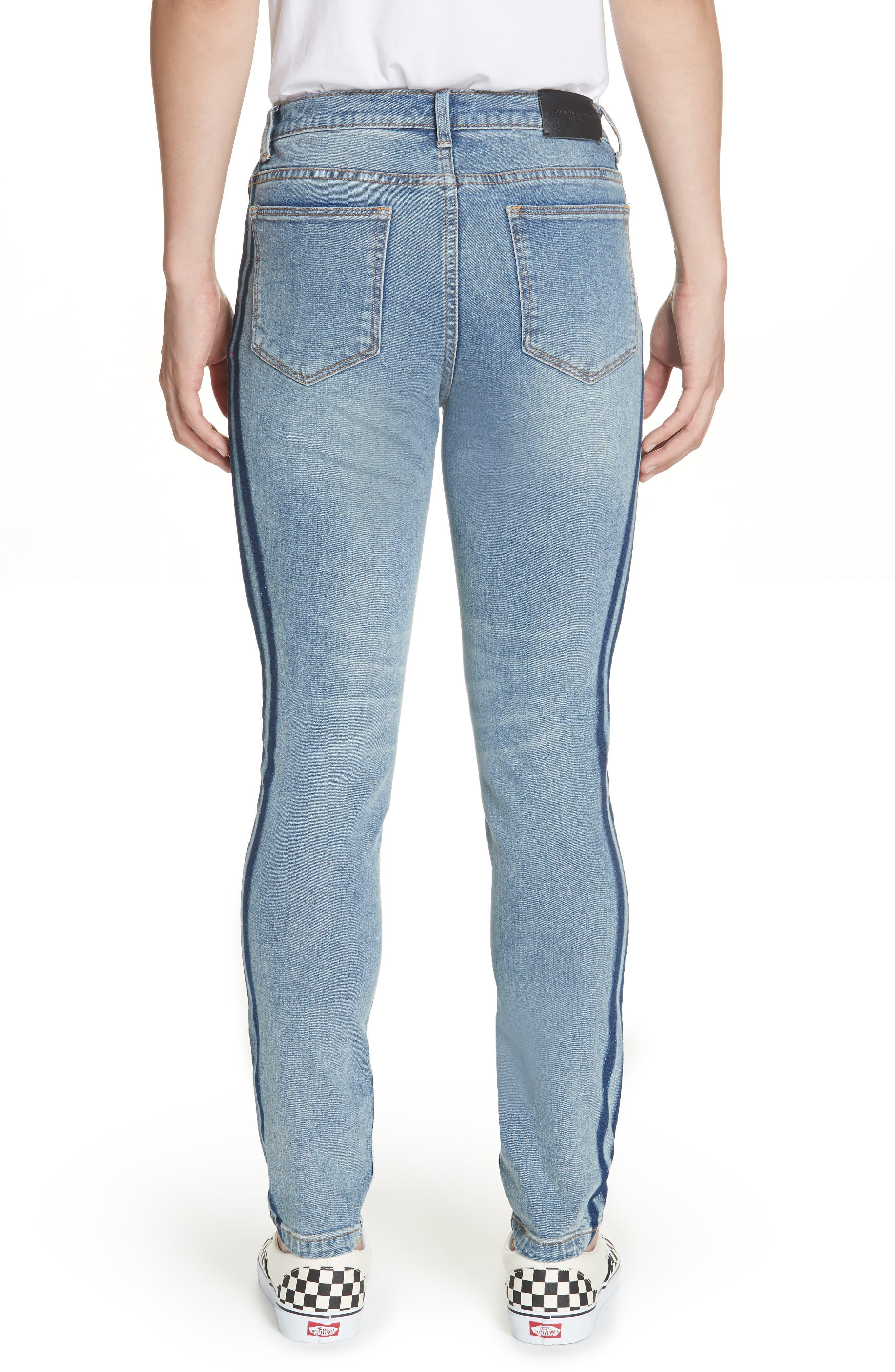 OVADIA & SONS,                             OS-1 Slim Fit Jeans,                             Alternate thumbnail 2, color,                             INDIGO